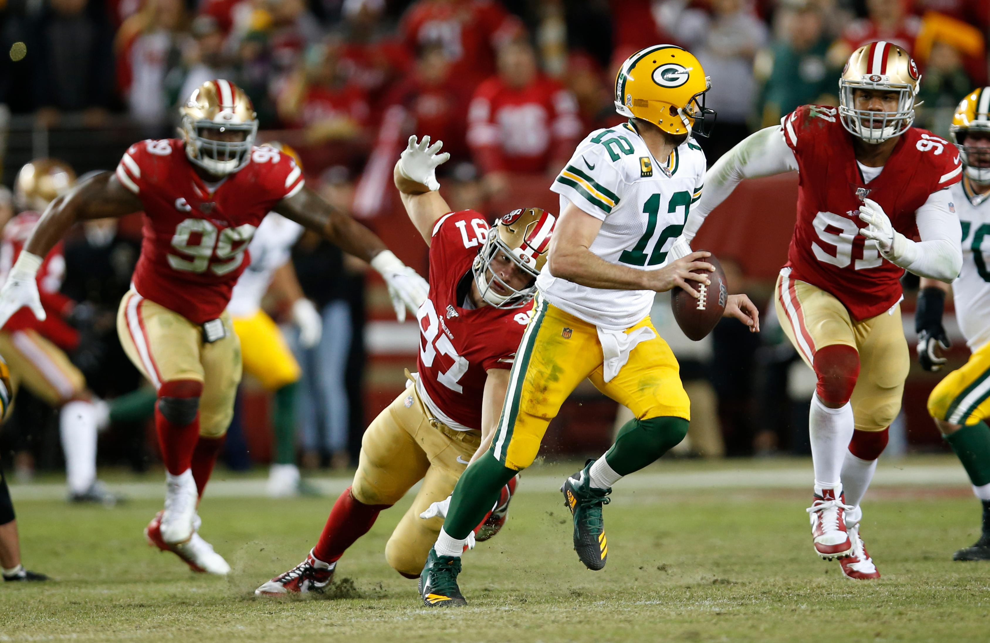 Green Bay Packers v San Francisco 49er