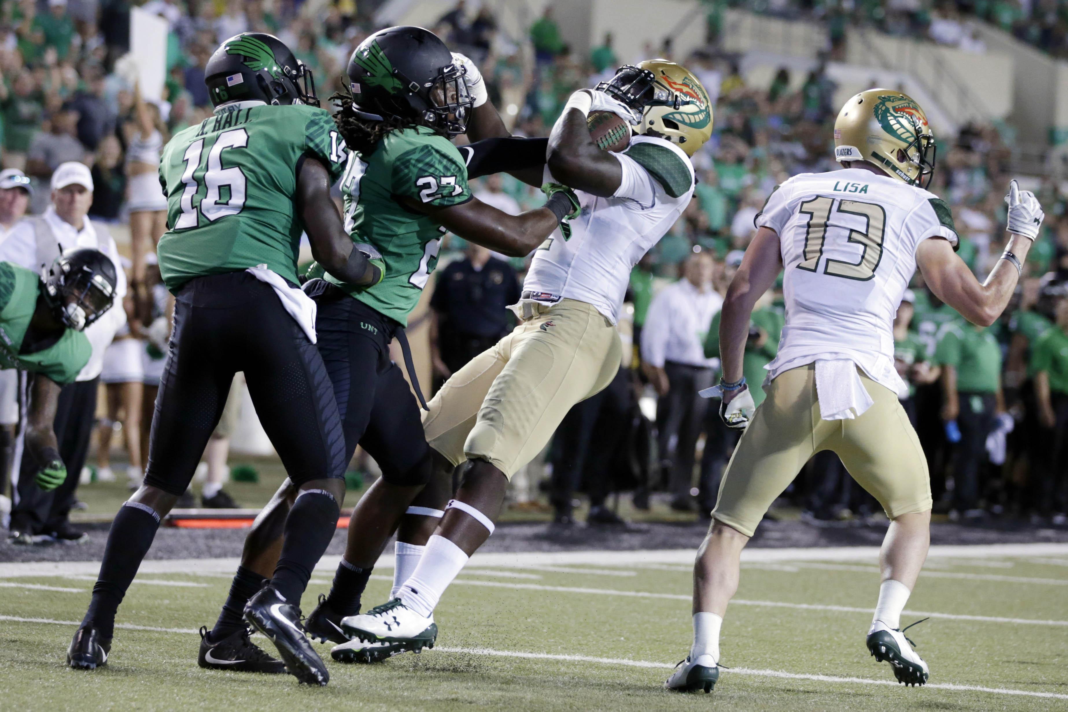 NCAA Football: Alabama-Birmingham at North Texas