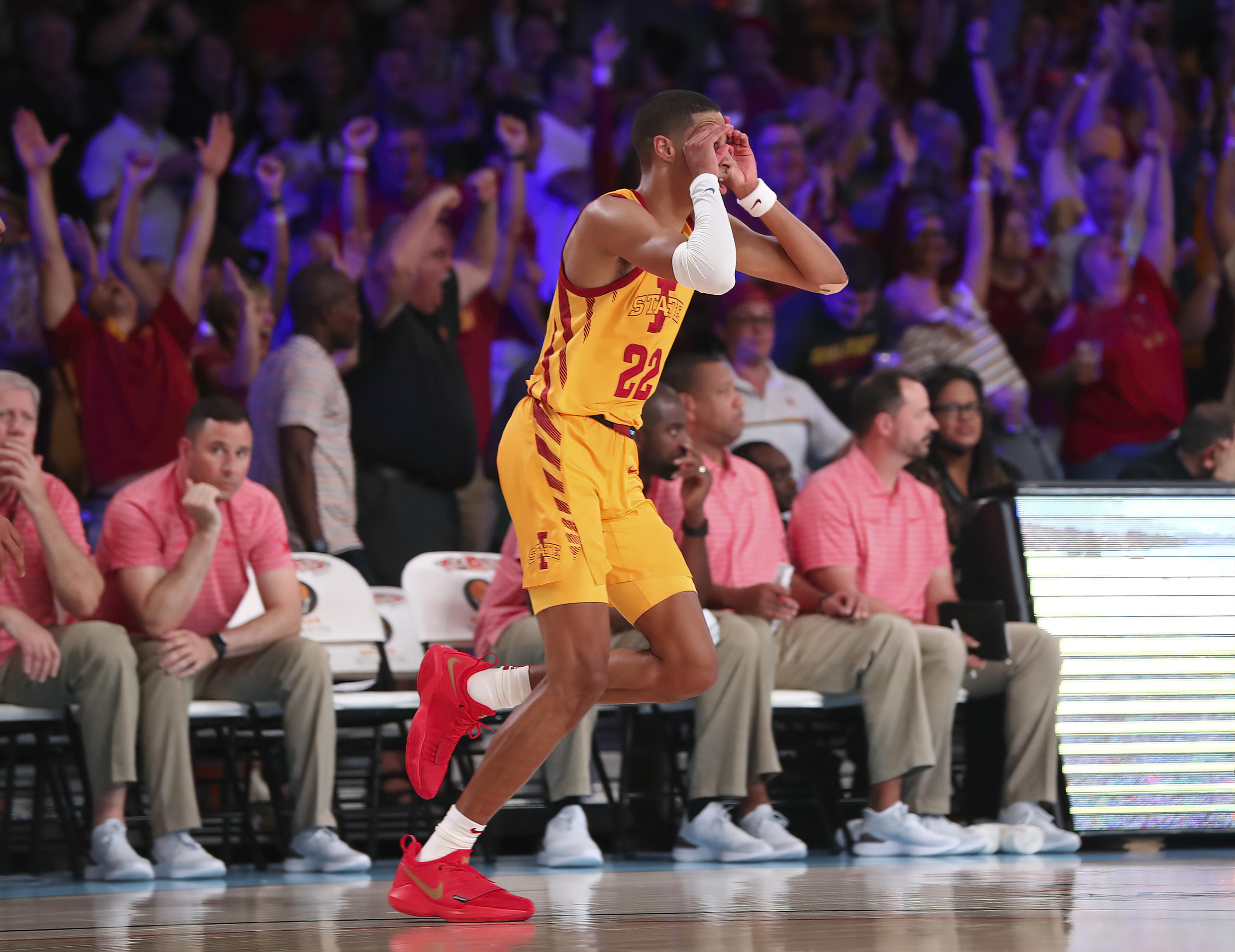 NCAA Basketball: Battle 4 Atlantis-Iowa State at Alabama