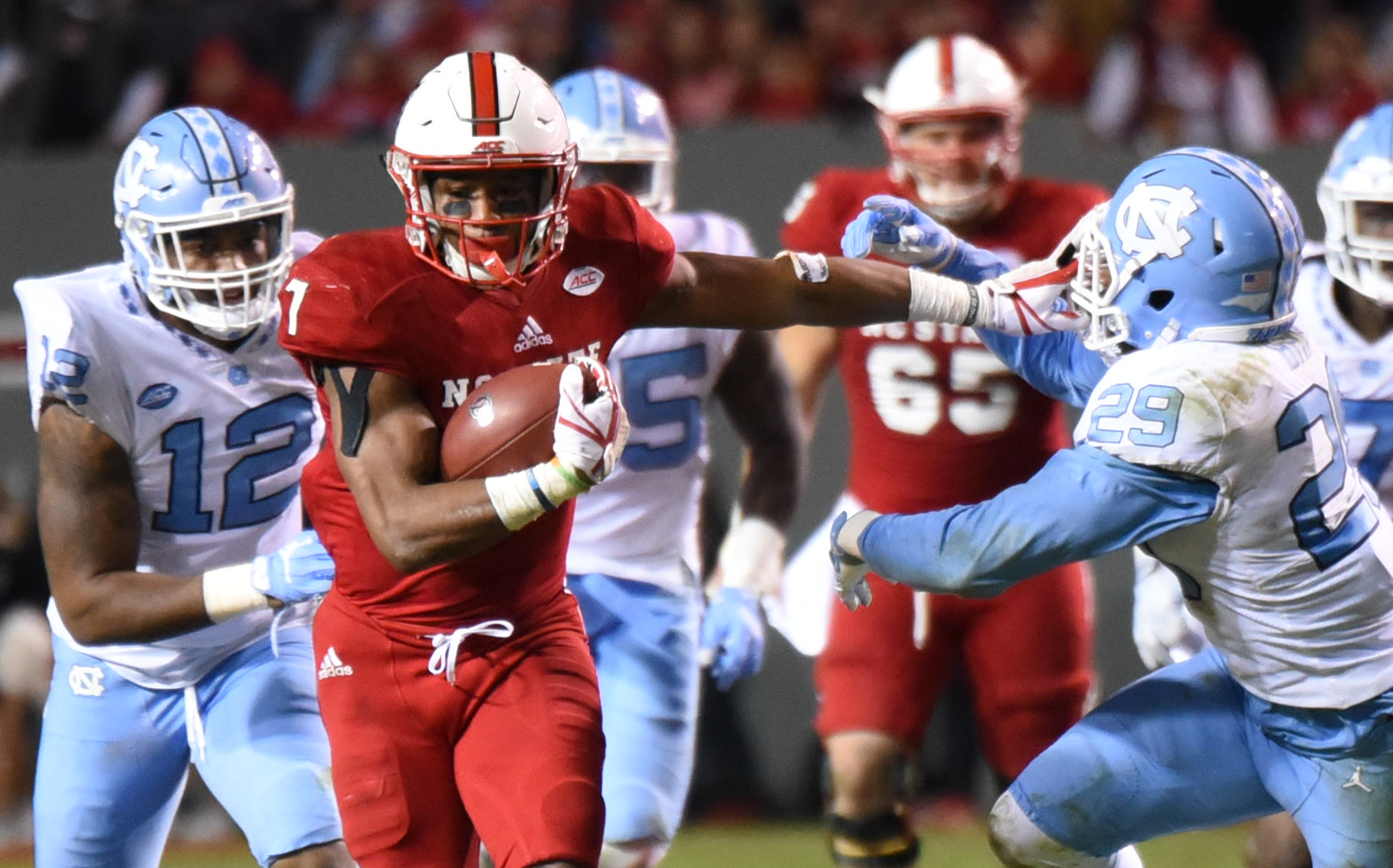 COLLEGE FOOTBALL: NOV 25 North Carolina at NC State
