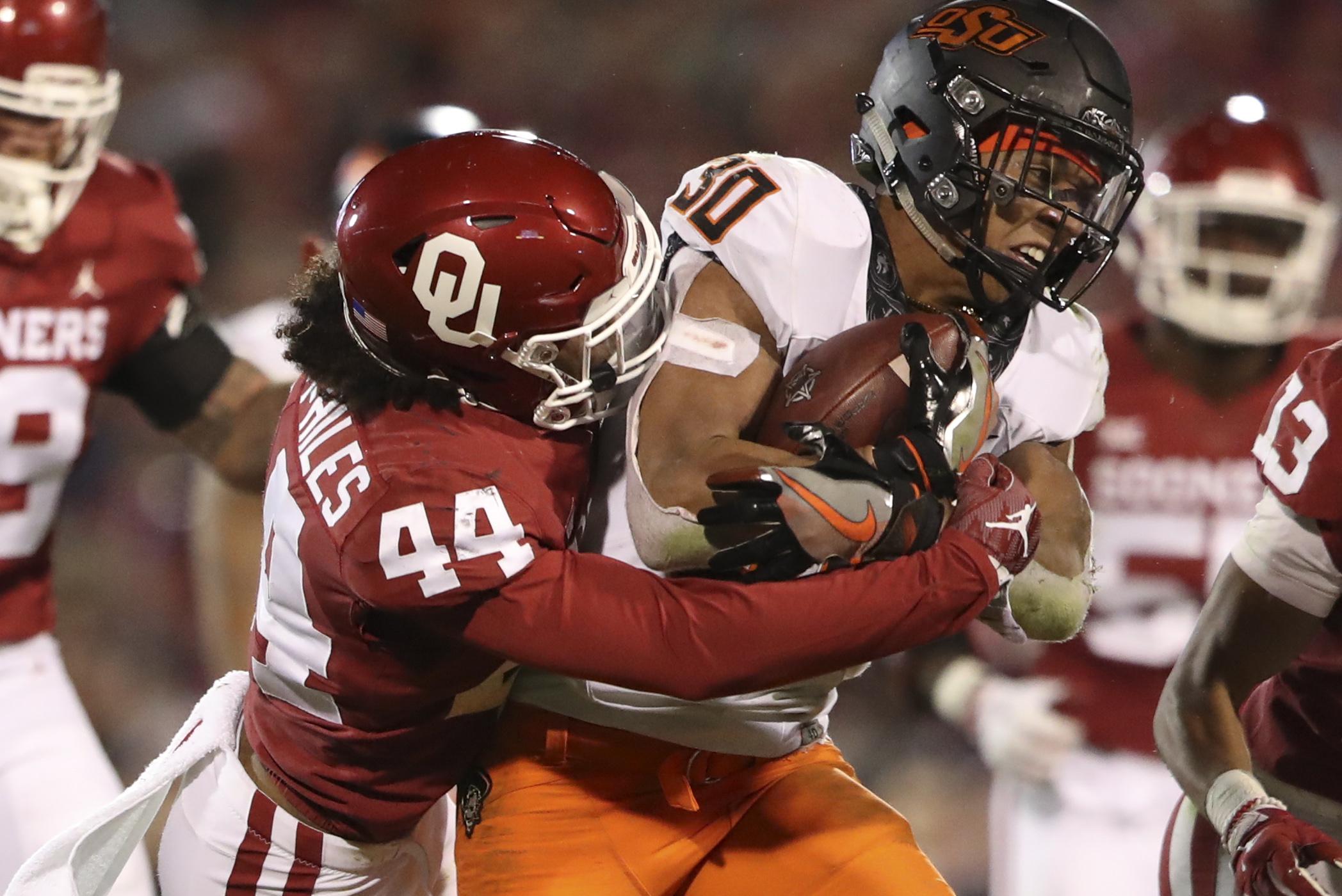 NCAA Football: Oklahoma State at Oklahoma