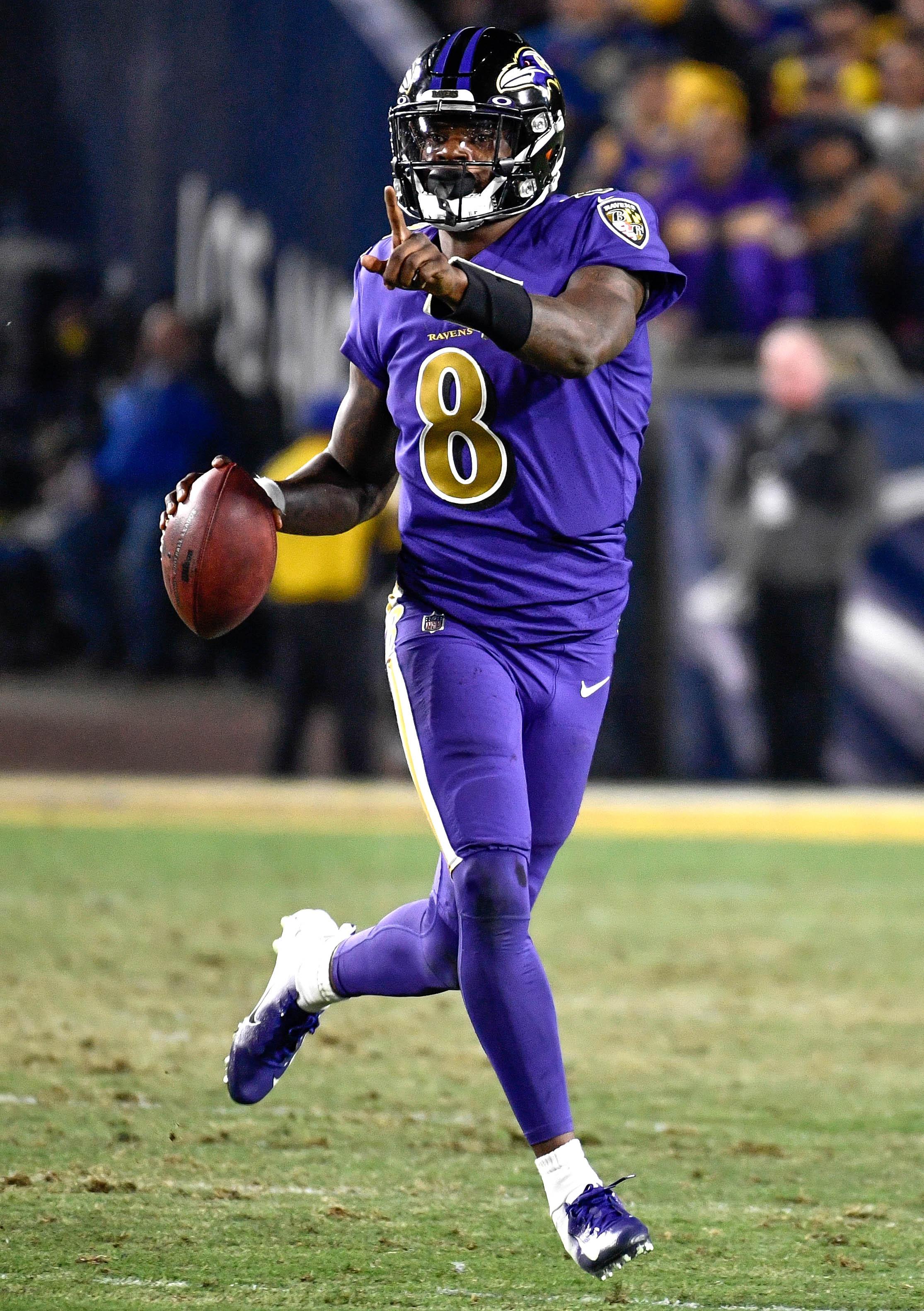 NFL: Baltimore Ravens at Los Angeles Rams