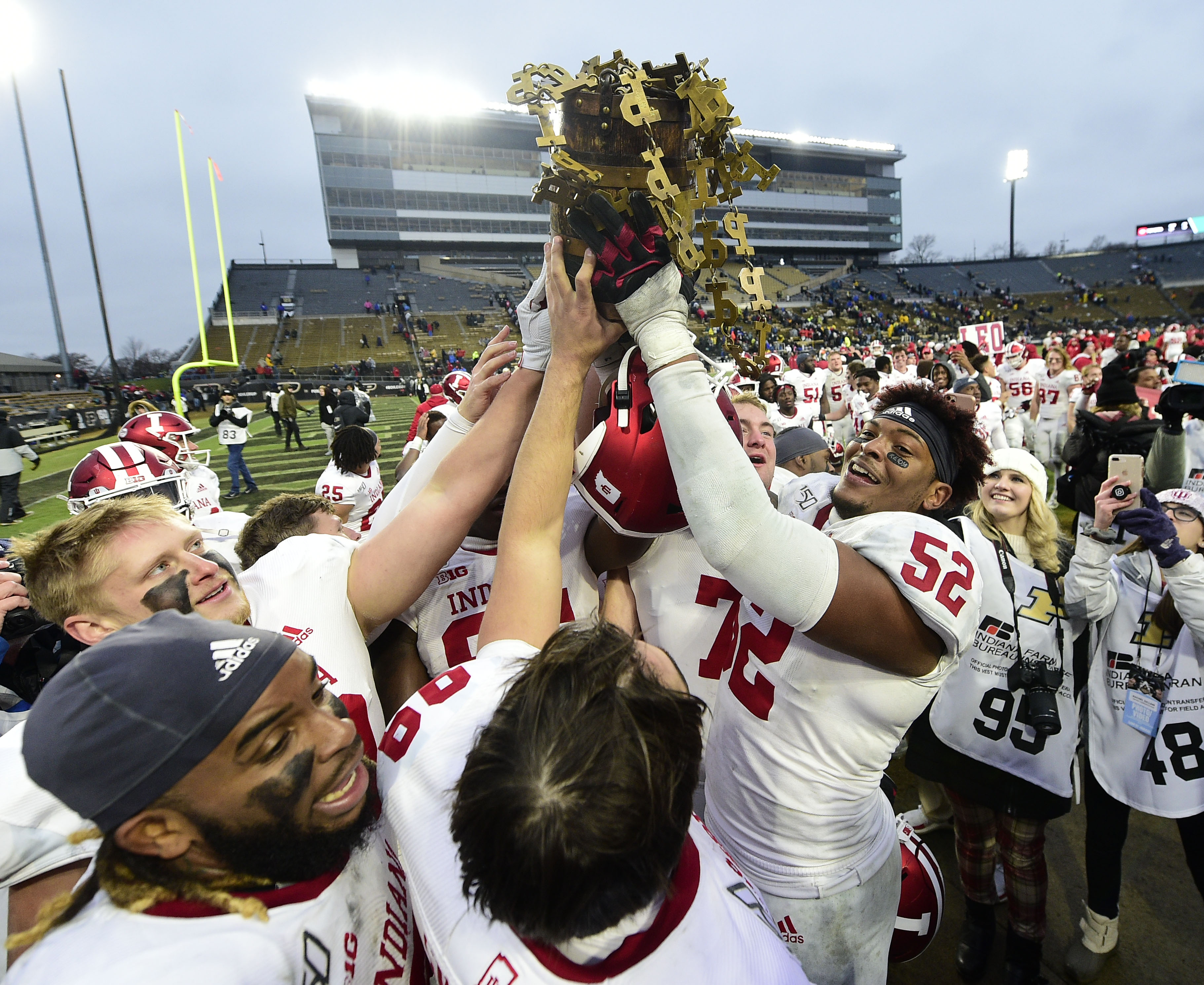 NCAA Football: Indiana at Purdue