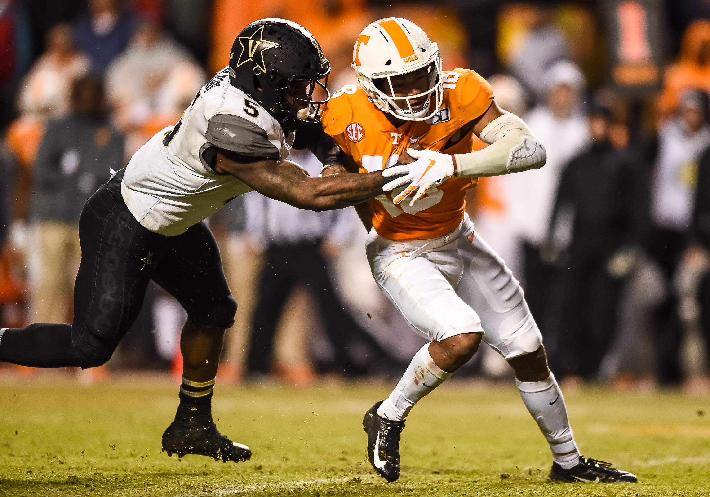 COLLEGE FOOTBALL: NOV 30 Vanderbilt at Tennessee