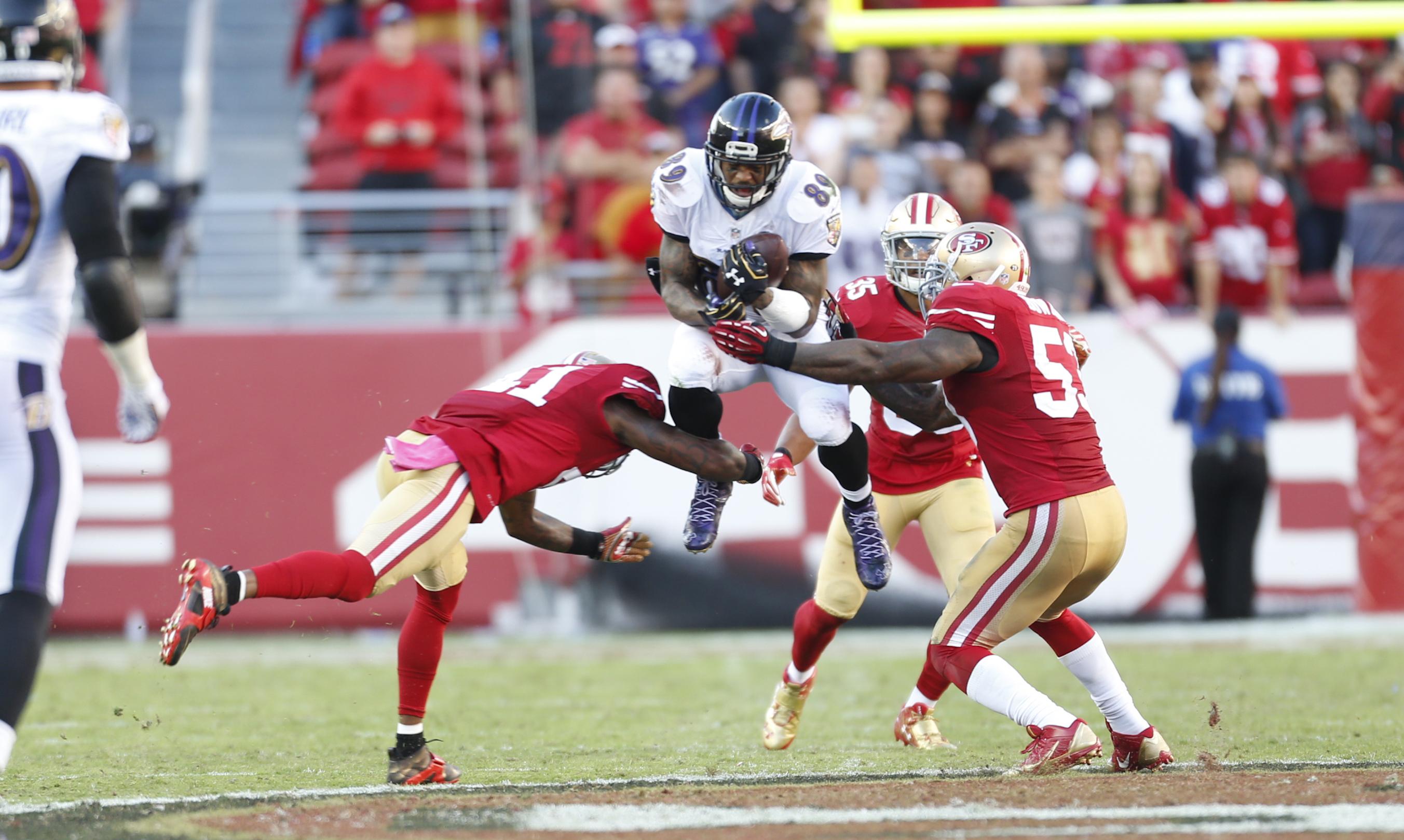 Baltimore Ravens v San Francisco 49ers