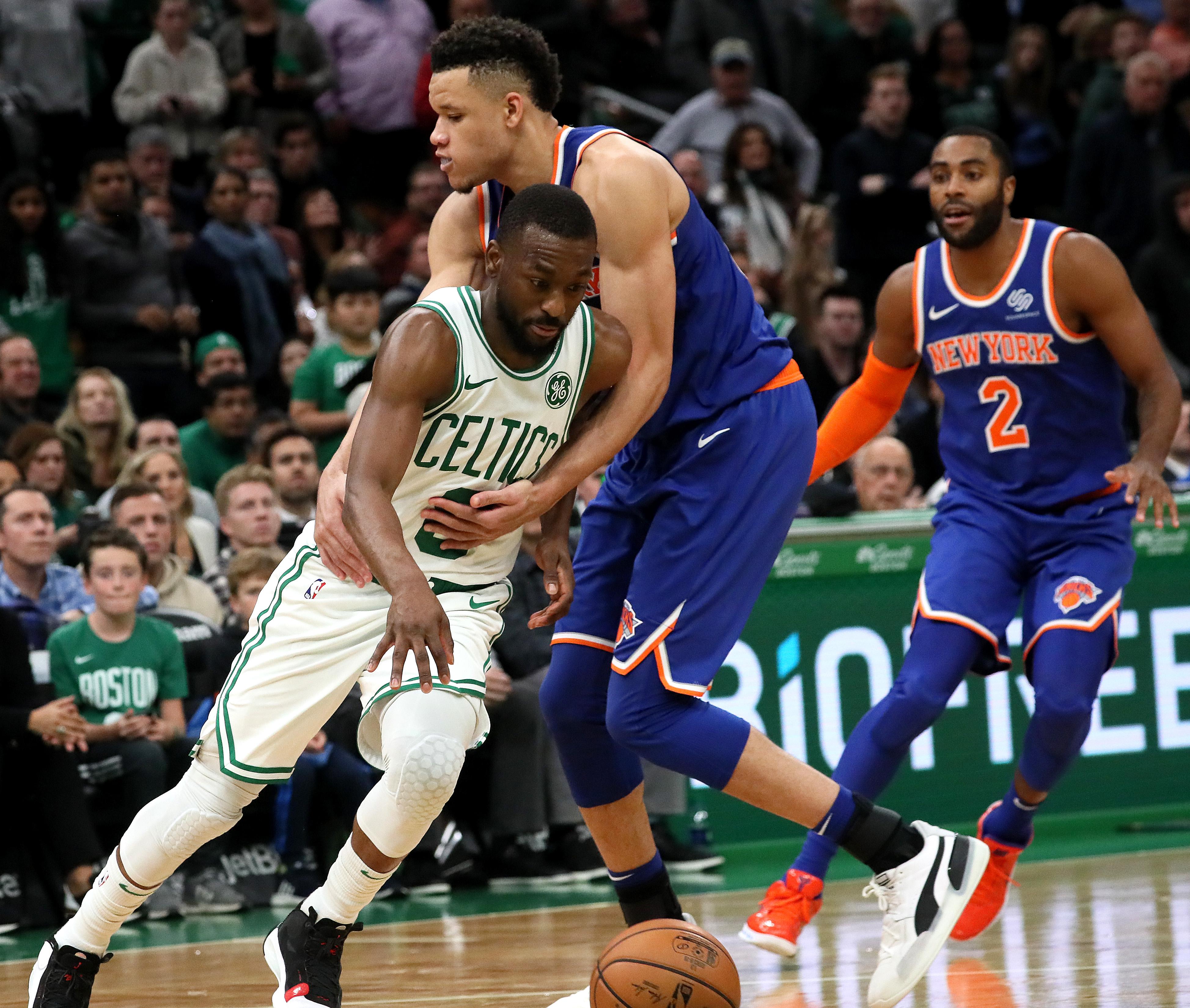 New York Knicks Vs Boston Celtics At TD Garden
