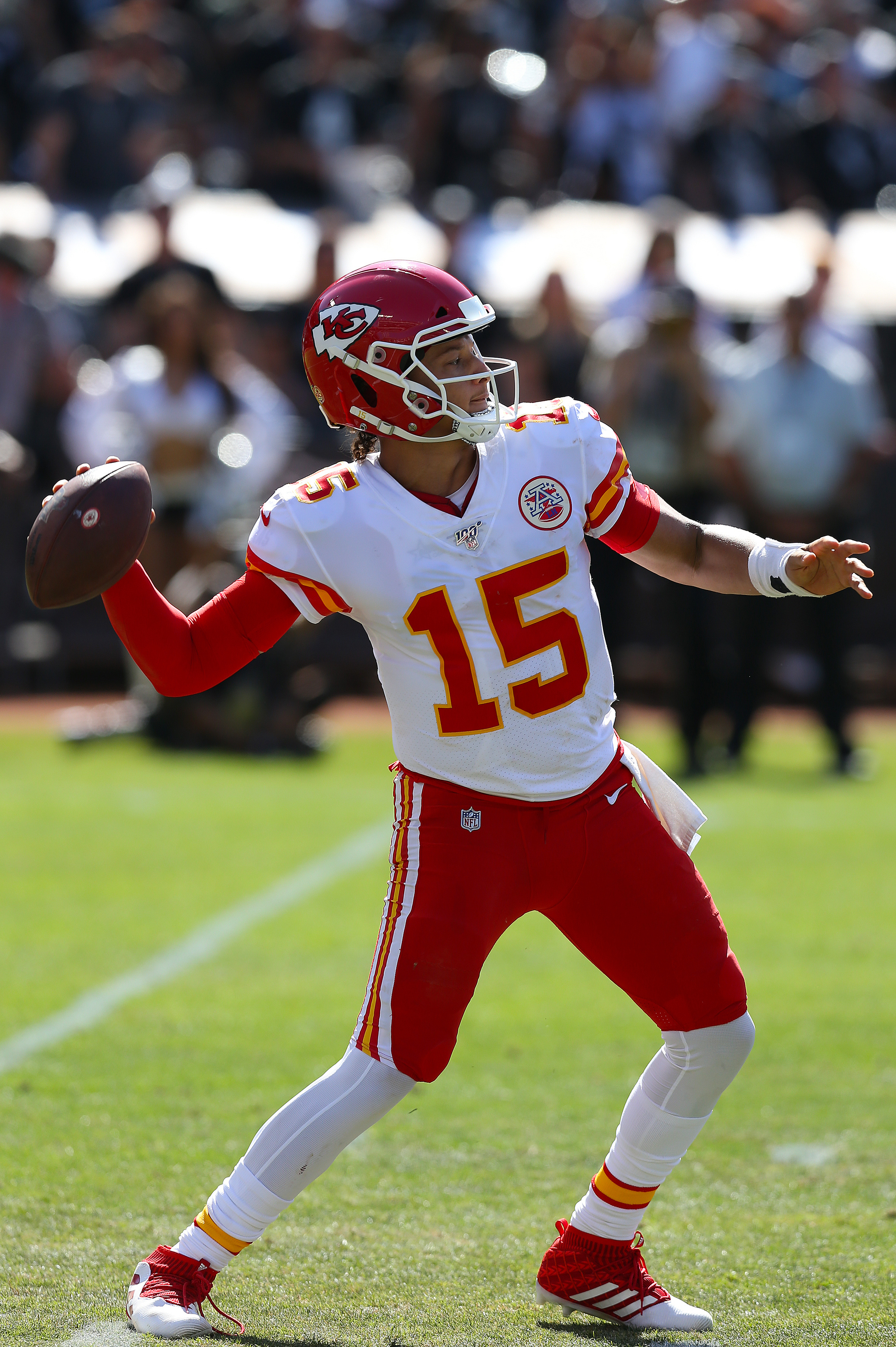 NFL: SEP 15 Chiefs at Raiders