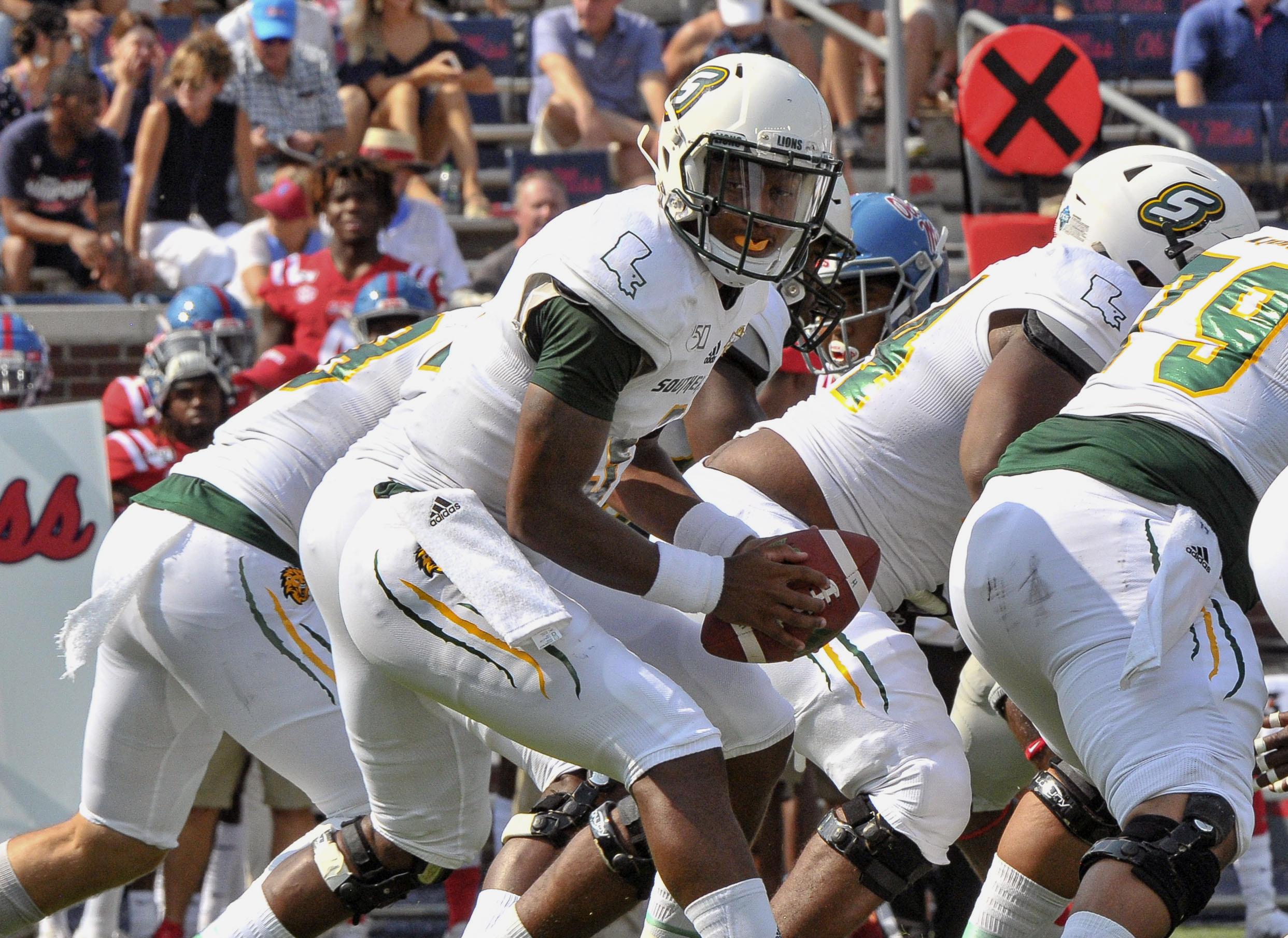 NCAA Football: Southeastern Louisiana at Mississippi