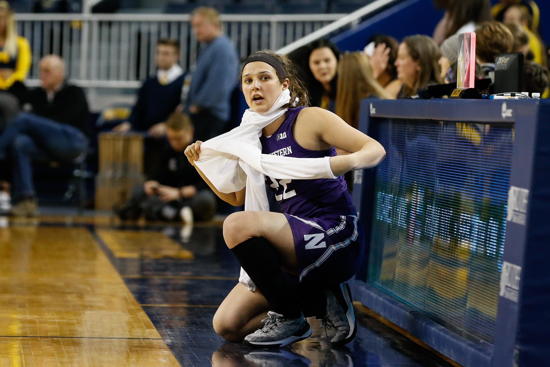 COLLEGE BASKETBALL: FEB 08 Women's - Northwestern at Michigan