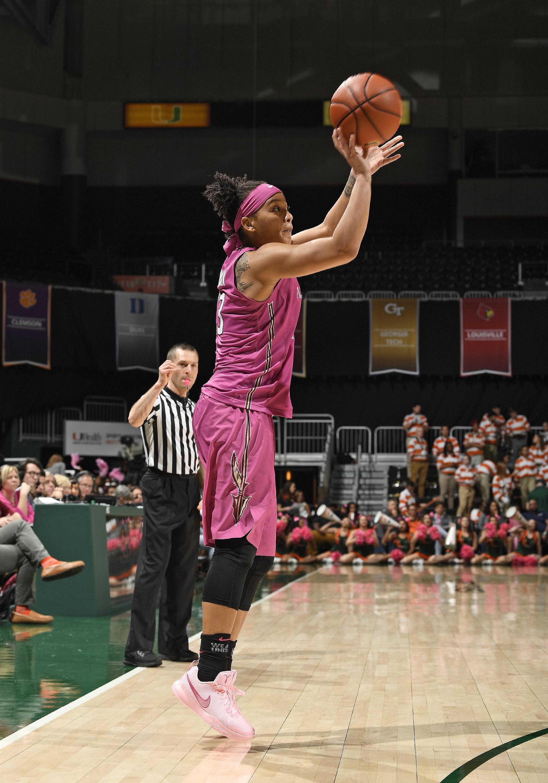 COLLEGE BASKETBALL: FEB 11 Women's - Florida State at Miami