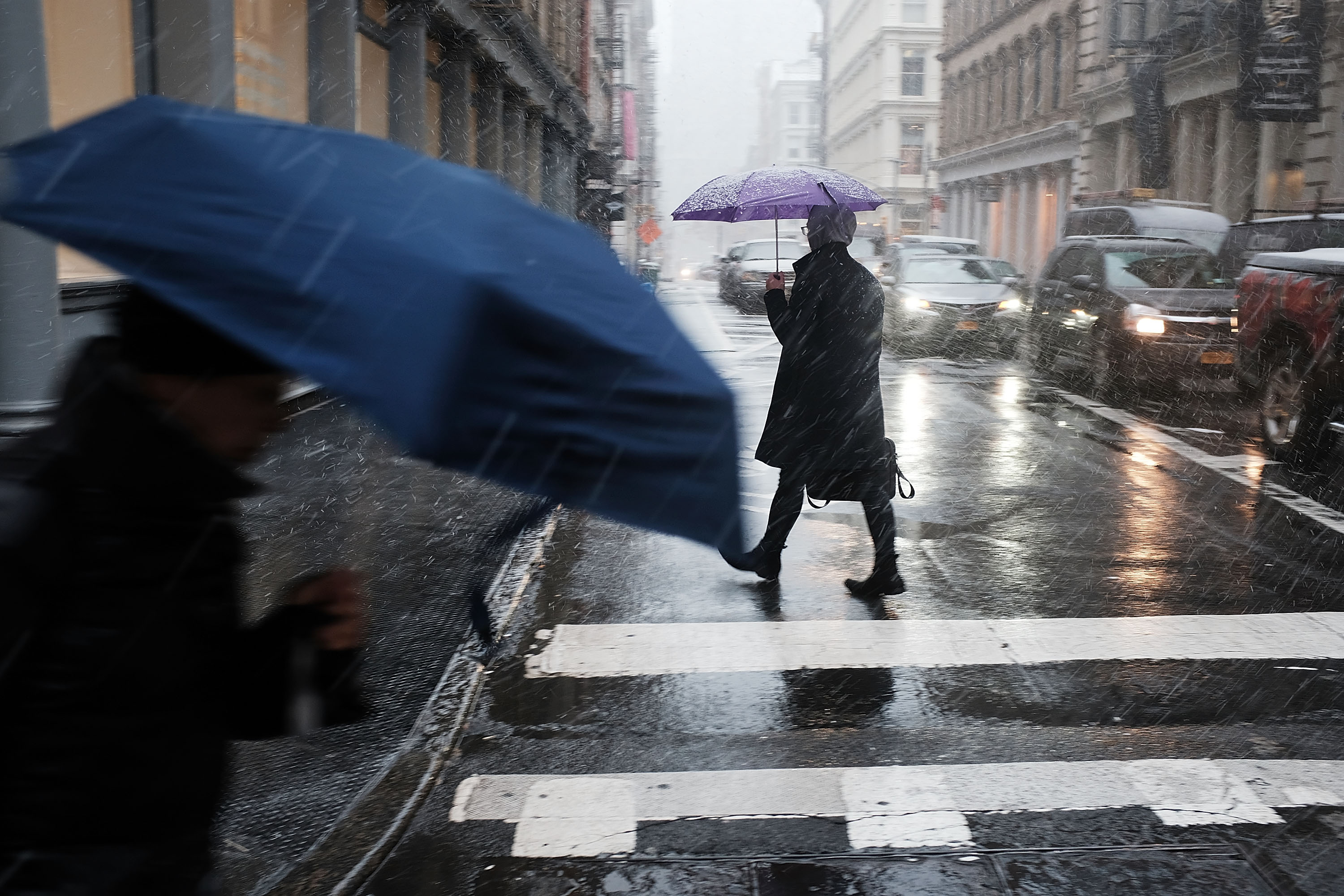 New York City braces for up to four inches of snow
