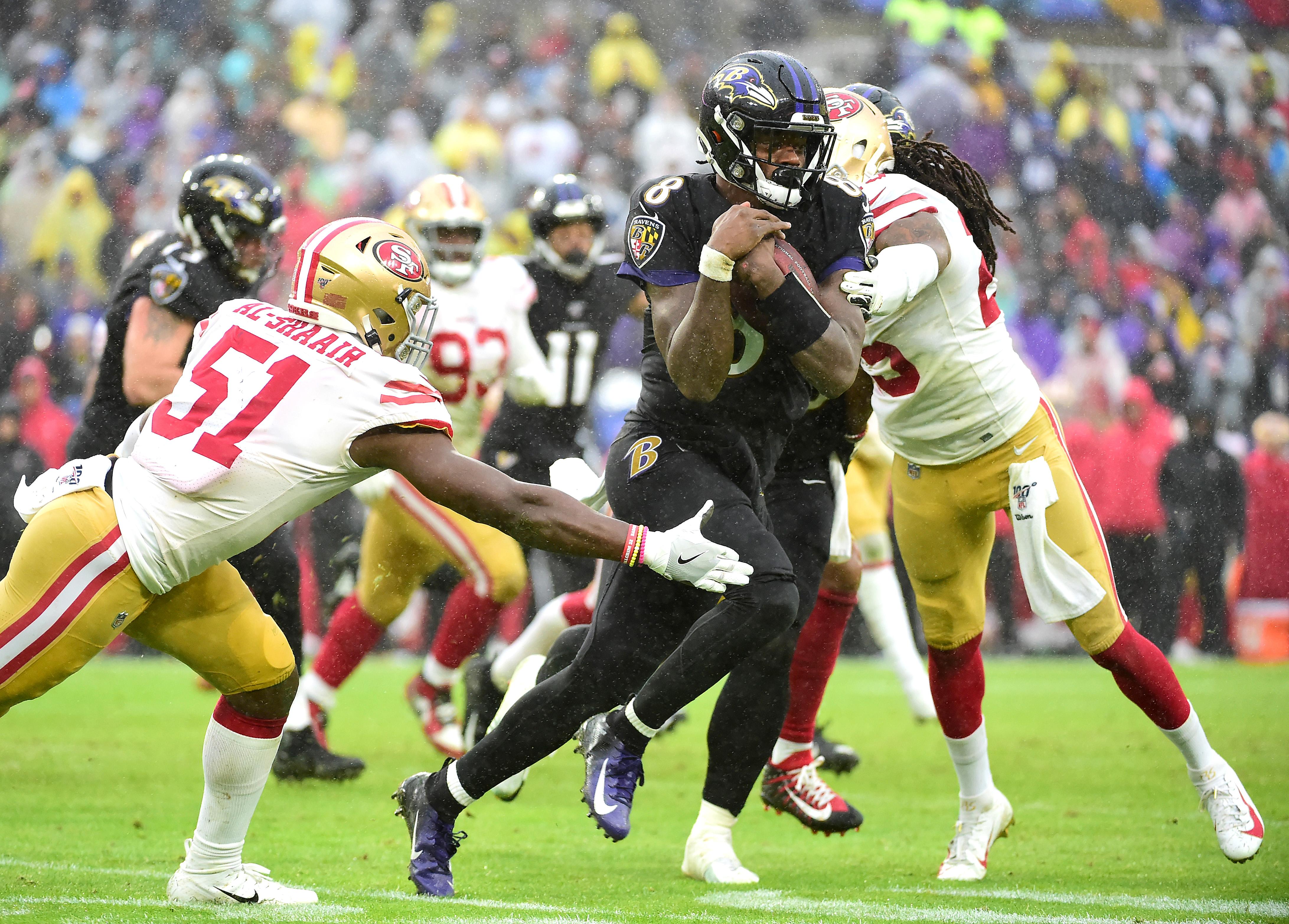 NFL: San Francisco 49ers at Baltimore Ravens
