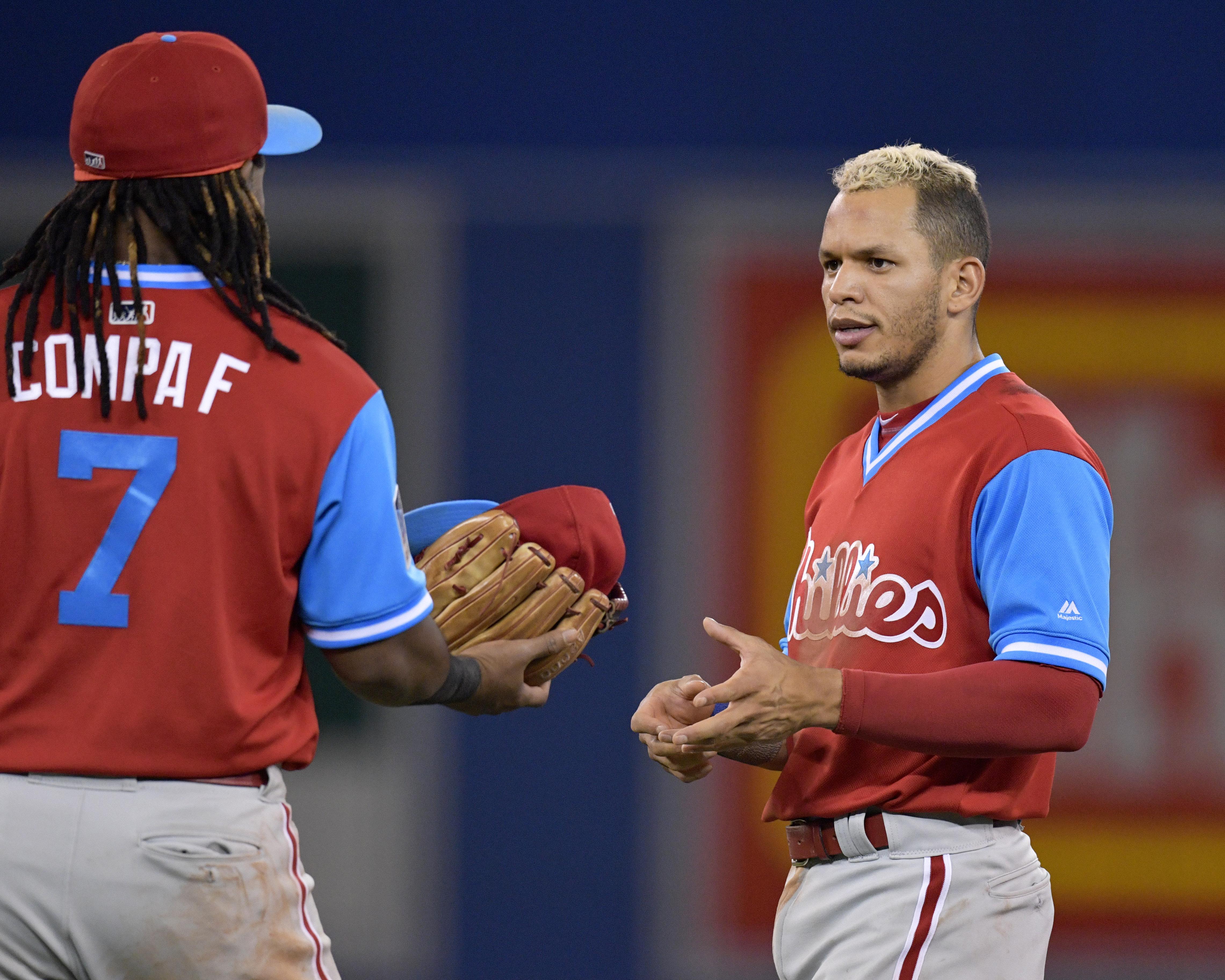 MLB: AUG 25 Phillies at Blue Jays