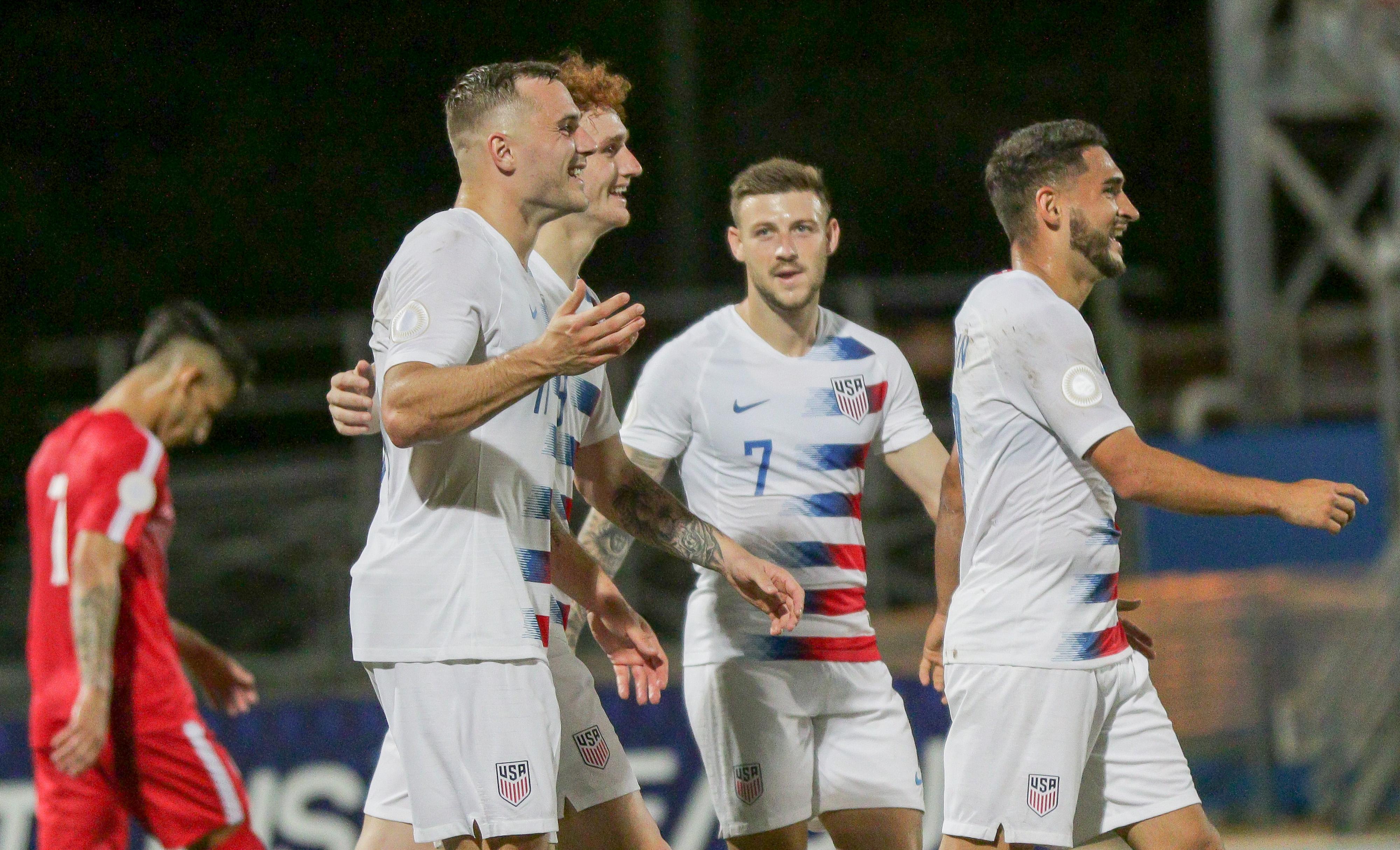 美国vs古巴- CONCACAF国家联盟