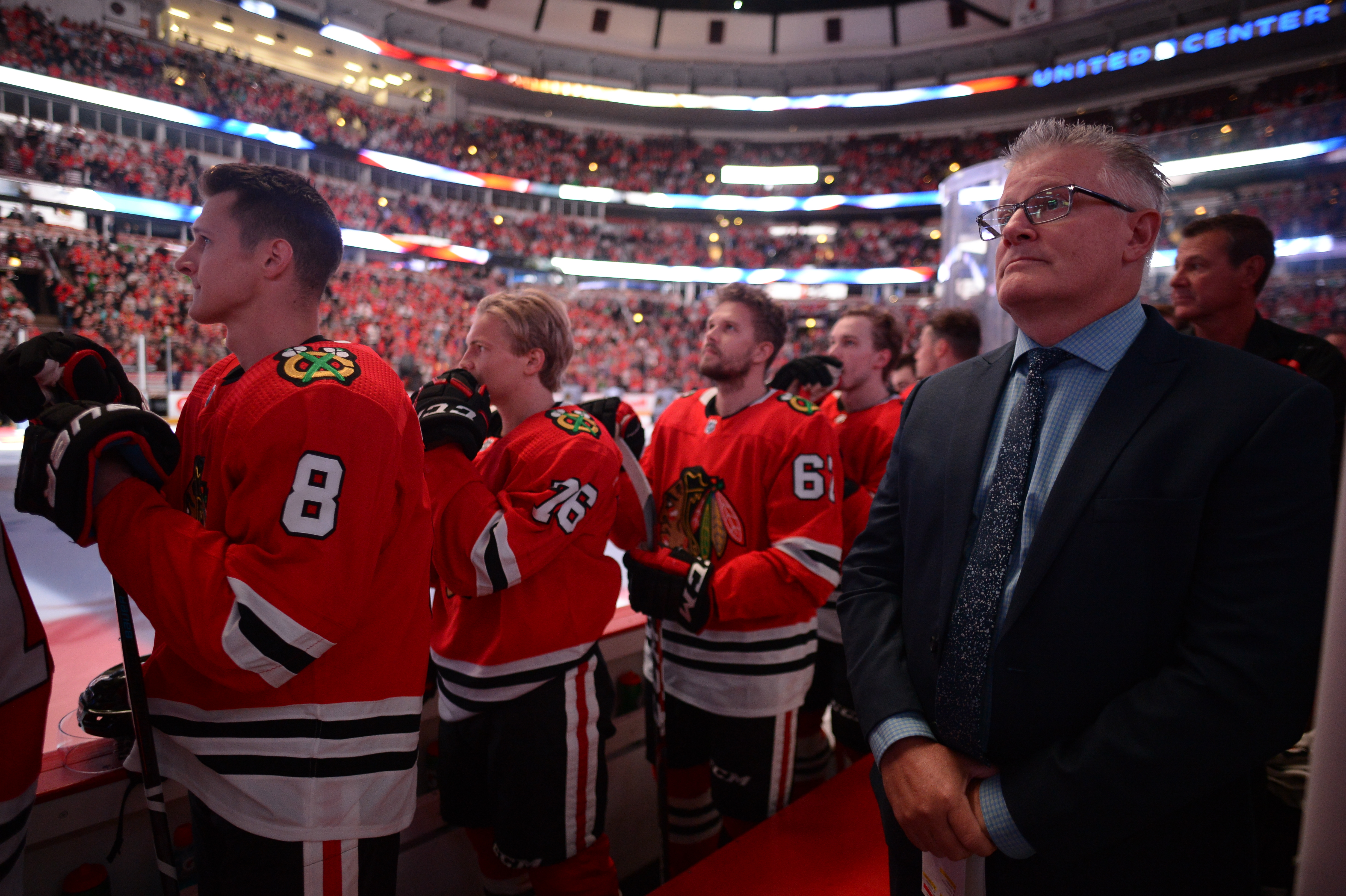 Marc Crawford, who debuted as a Blackhawks assistant this season, has been accused of physically abusing players on previous coaching stops.