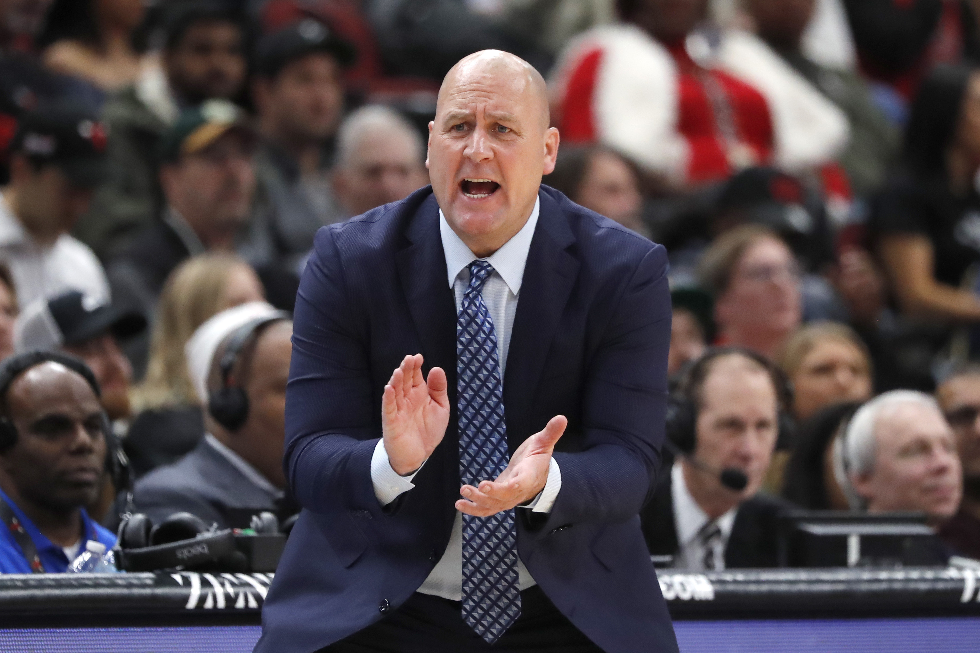 """I don't know if it feels like a year,'' Bulls coach Jim  Boylen said. ""All I can say is, I'm really enjoying it. I like this group of guys."""