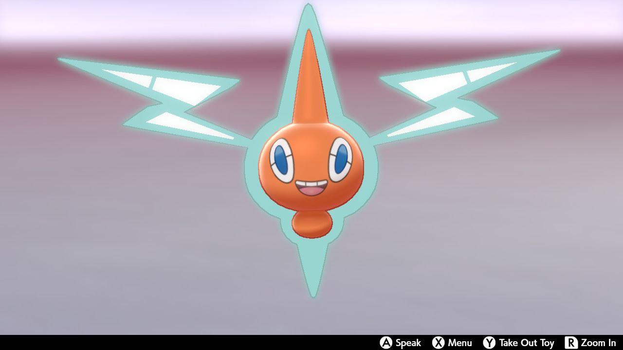 A Rotom in Pokémon Sword and Shield