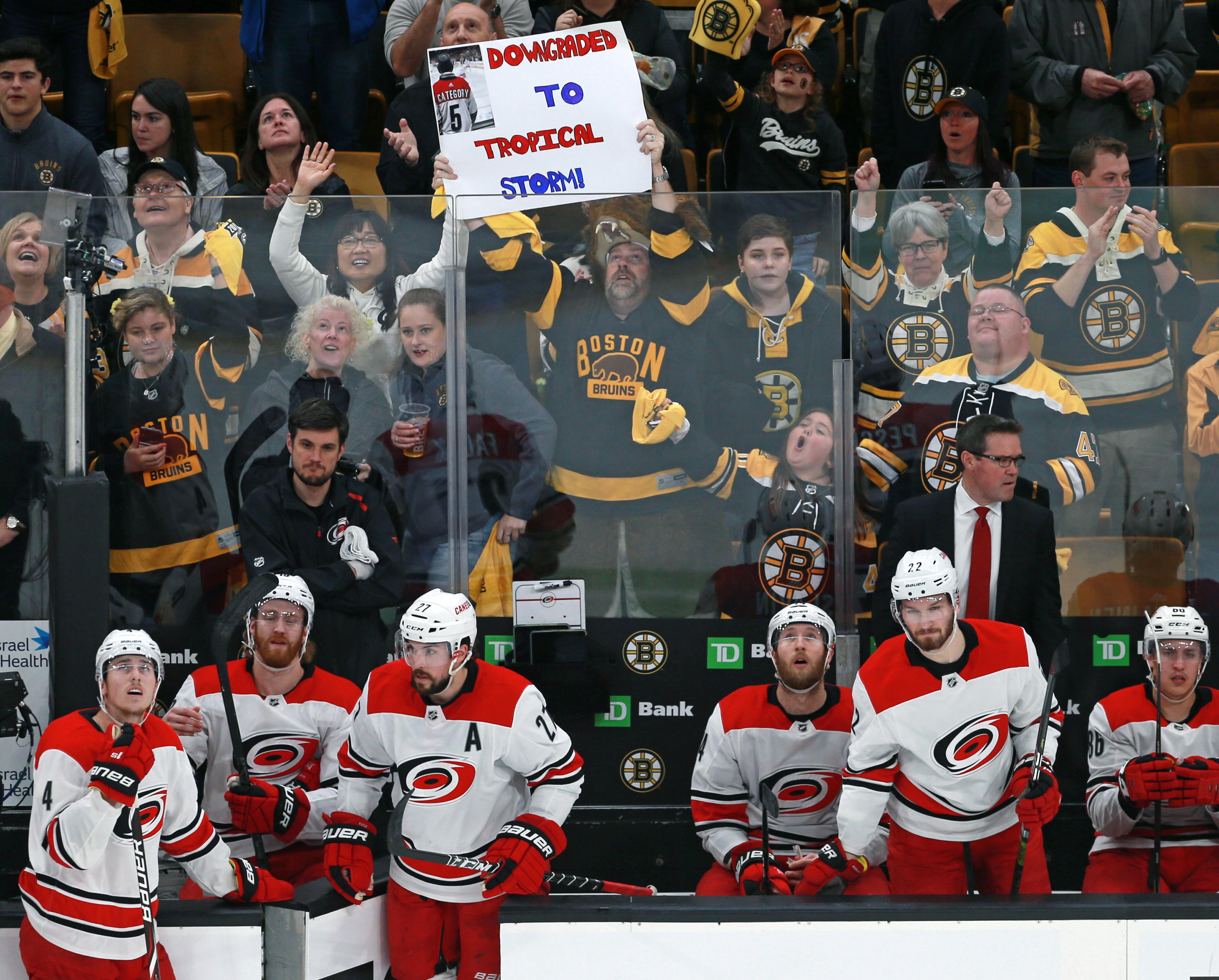 2019 Stanley Cup Playoffs: Carolina Hurricanes Vs Boston Bruins At TD Garden