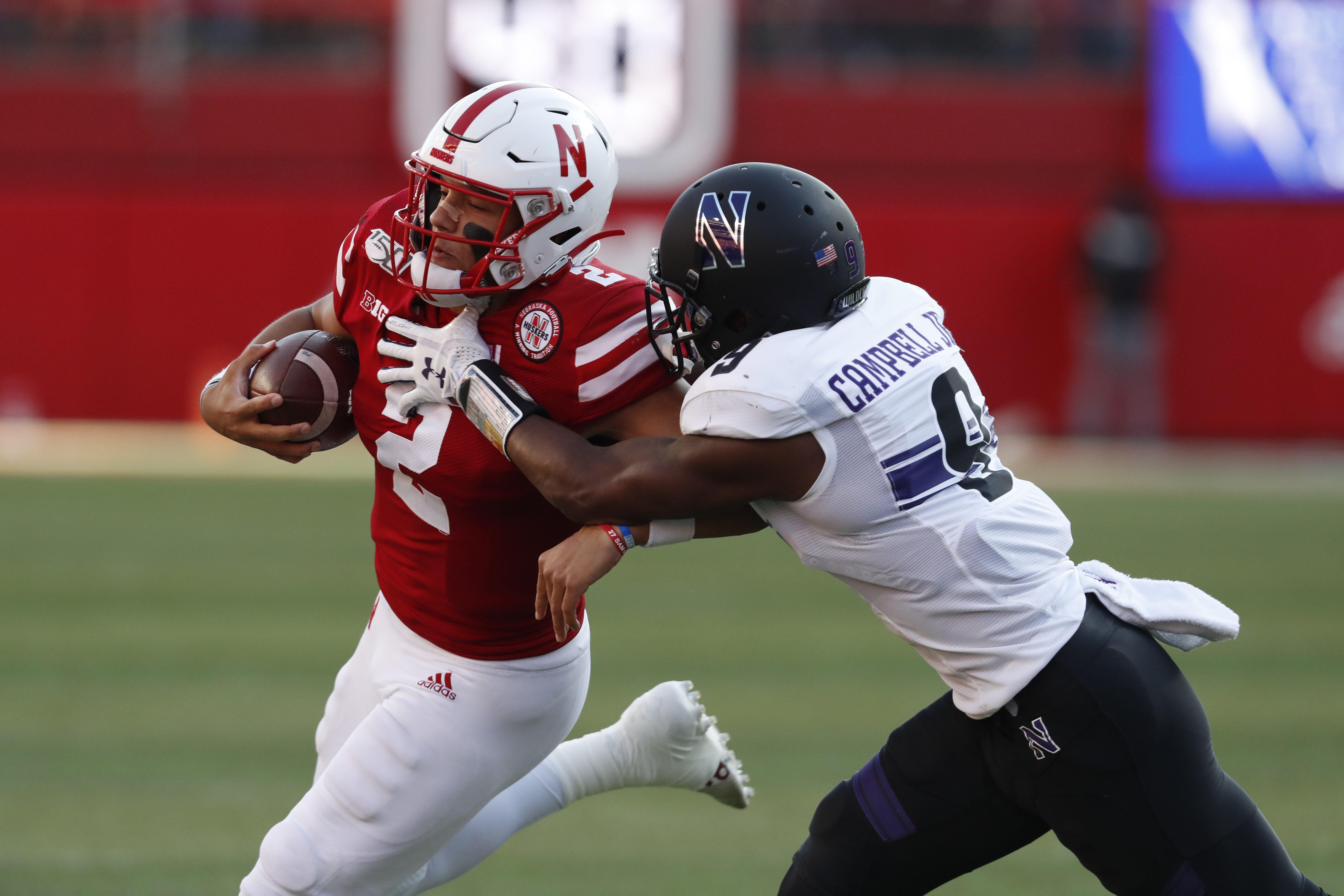 NCAA Football: Northwestern at Nebraska