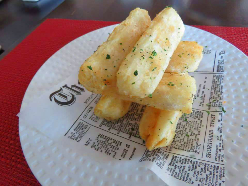 Yuca fries, on the menu from Beni Velasquez at ChinaLatina, opening this week on the eastside.