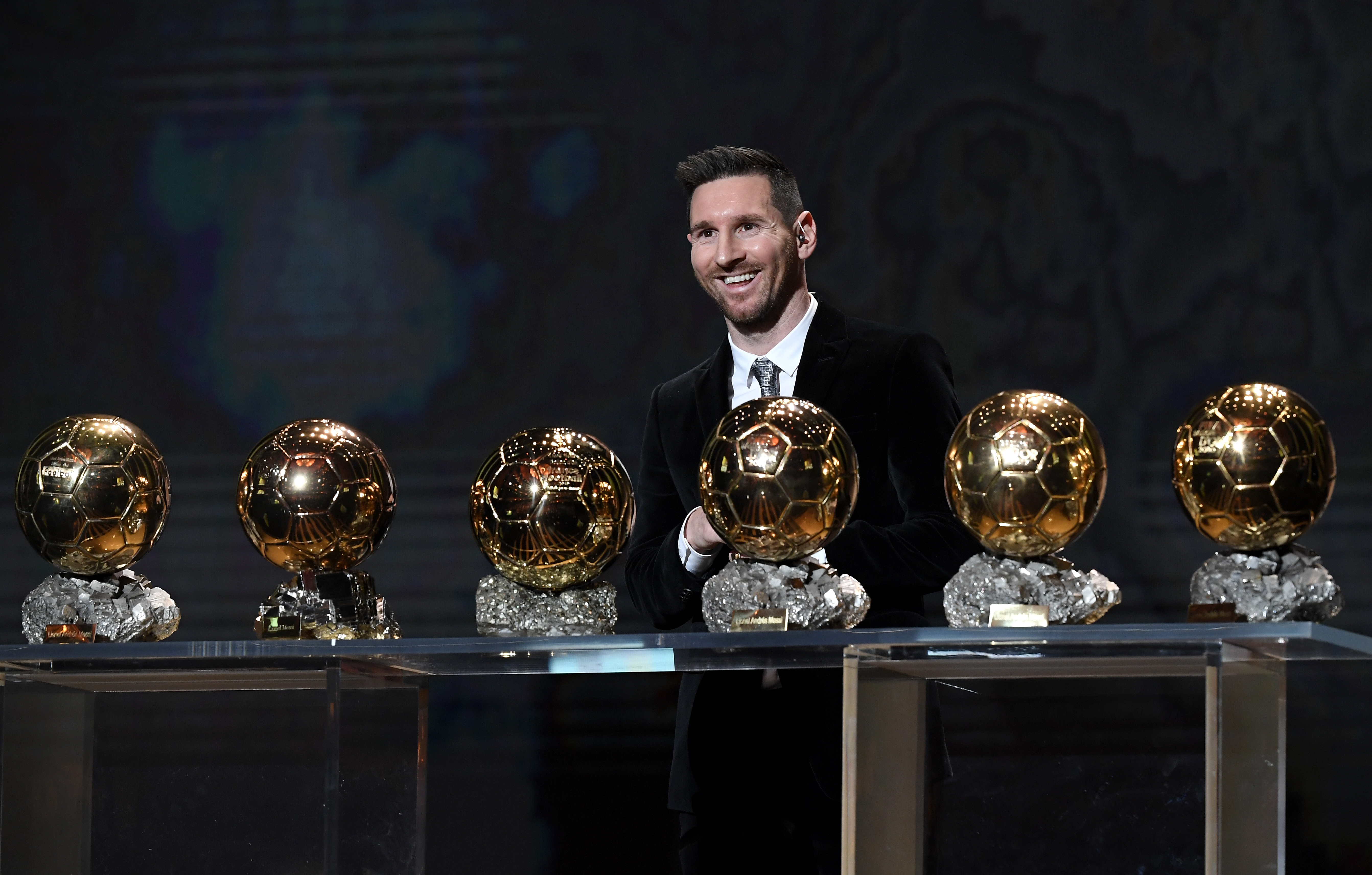 Ballon D'Or Ceremony At Theatre Du Chatelet : Inside Ceremony In Paris