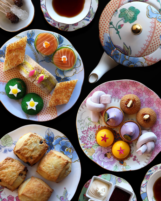 Tea sandwiches and treats