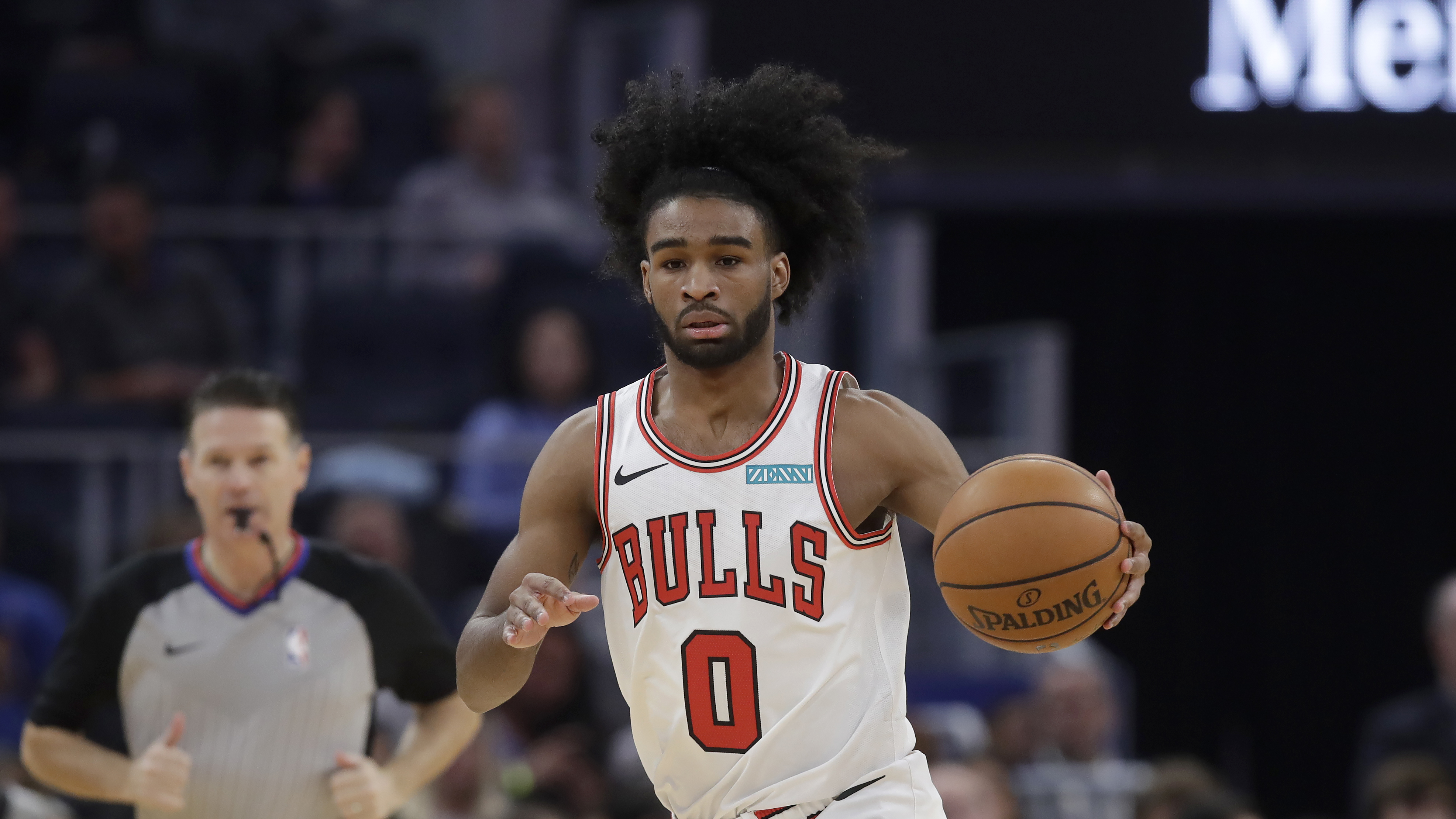"""This has been challenging for me for sure,'' Bulls rookie Coby White said of not starting. ""I haven't come off the bench in years.''"