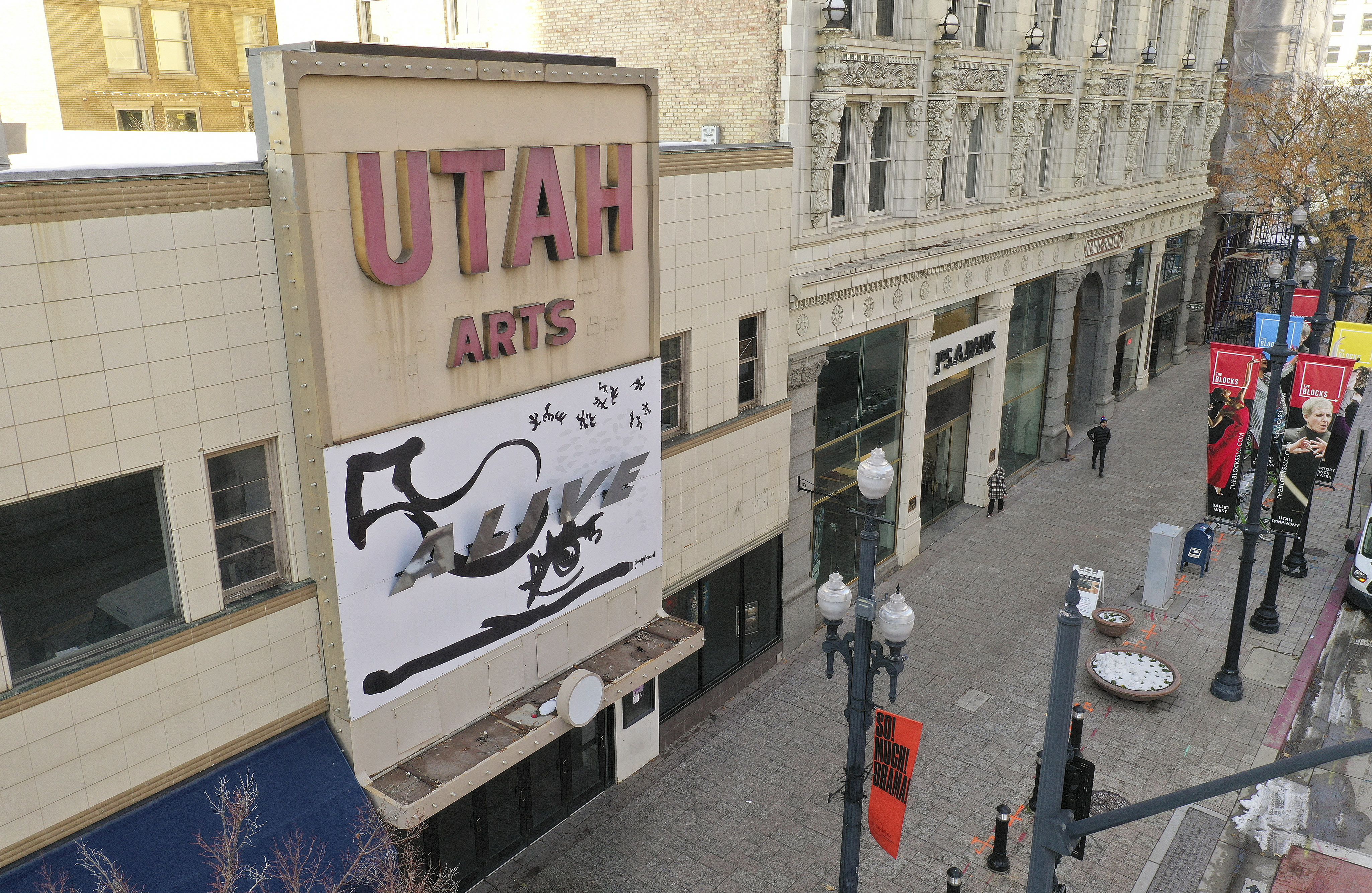 The Utah Theater is pictured in Salt Lake City on Tuesday, Dec. 3, 2019. The Salt Lake City Council is considering selling the theater.