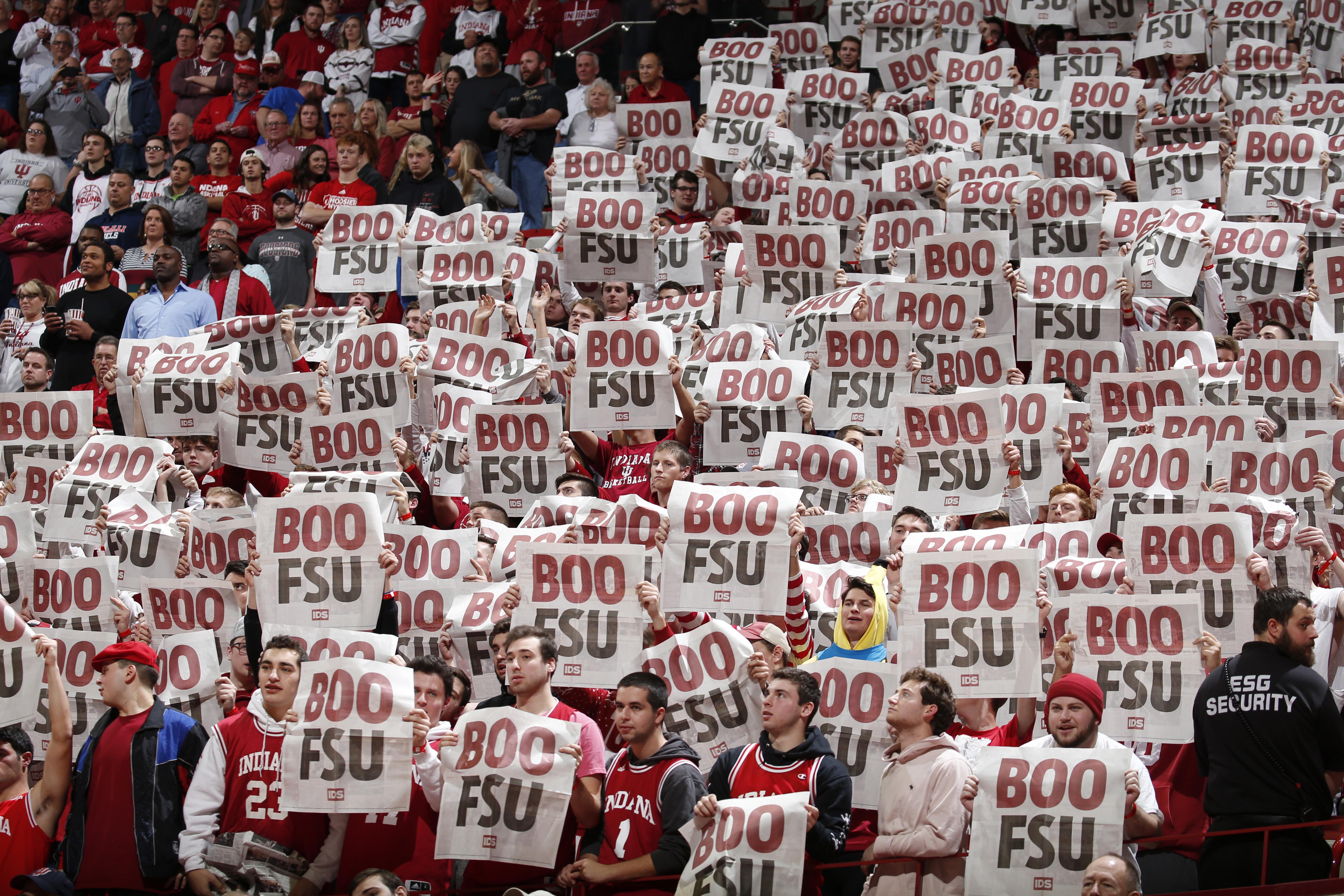 NCAA Basketball: Florida State at Indiana