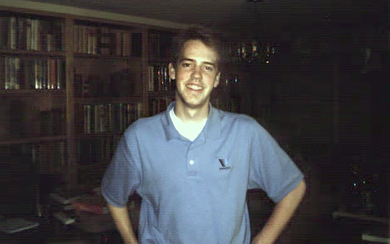 This photo of Josh Powell, circa June 2000, was taken at his father Steve Powell's home in South Hill, Wash.