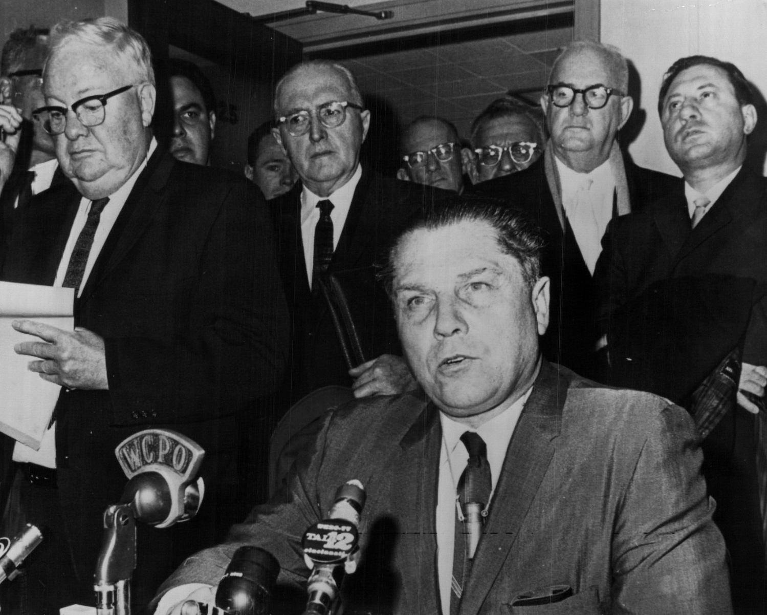 Jimmy Hoffa in 1964.