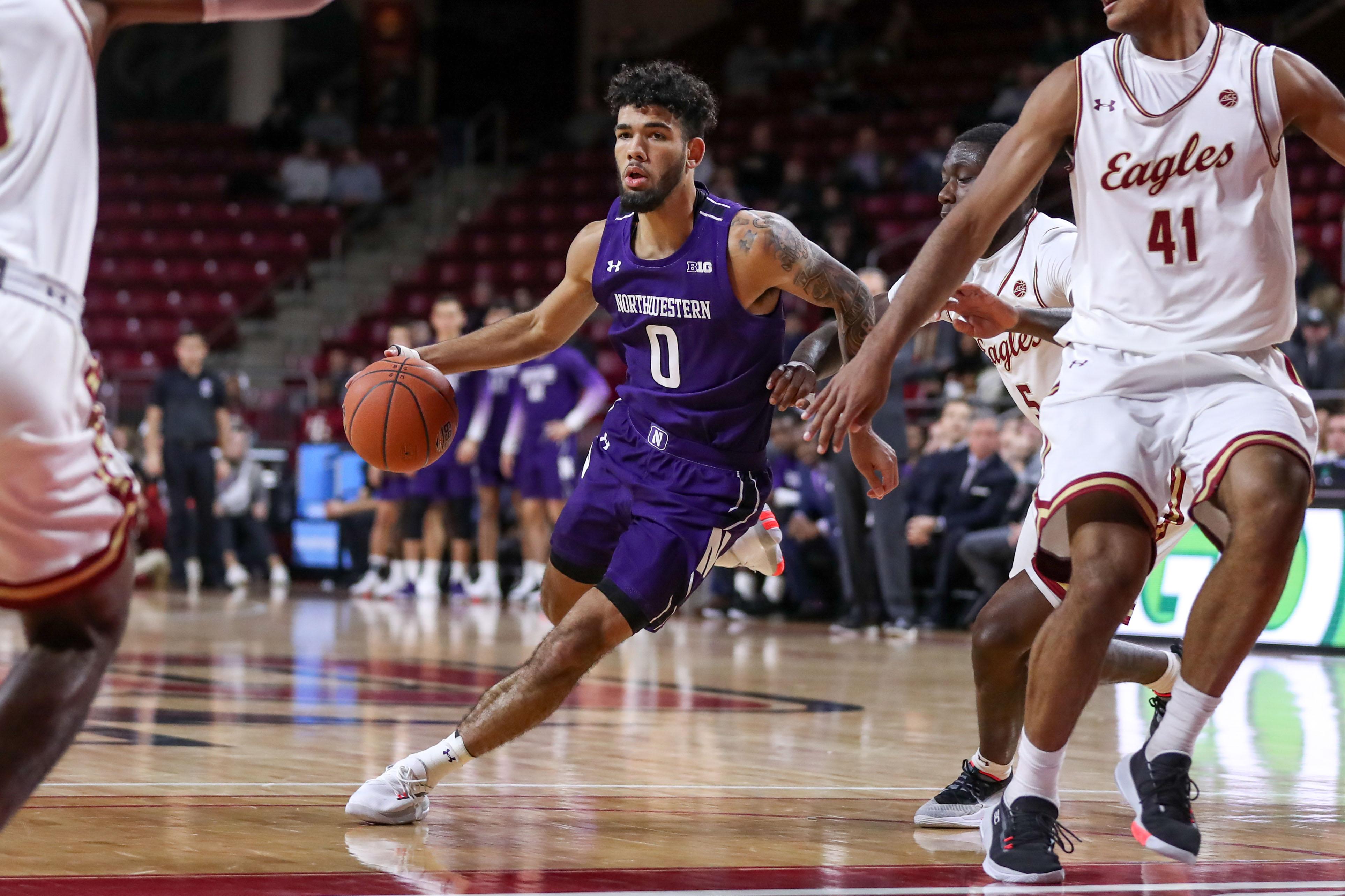 NCAA Basketball: Northwestern at Boston College