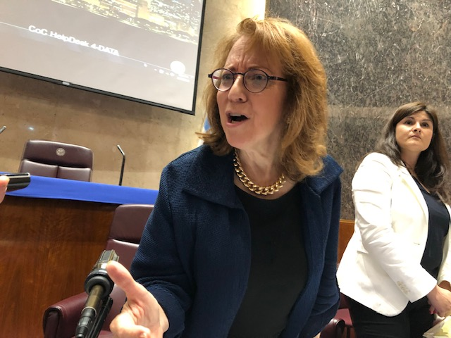 Ald. Michele Smith (43rd), a former federal prosecutor, now chairs the City Council's Ethics Committee,
