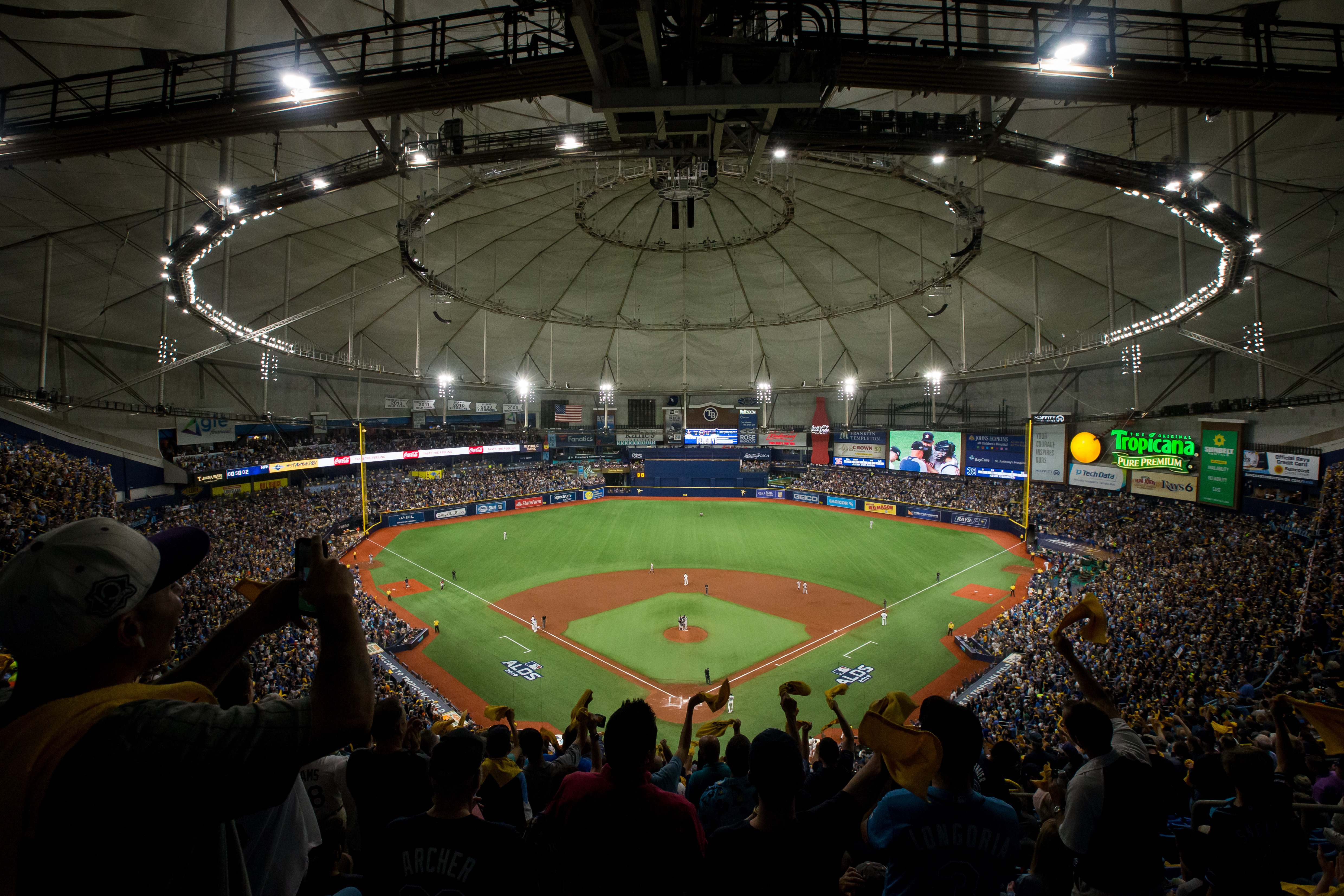 MLB: OCT 08 ALDS - Astros at Rays