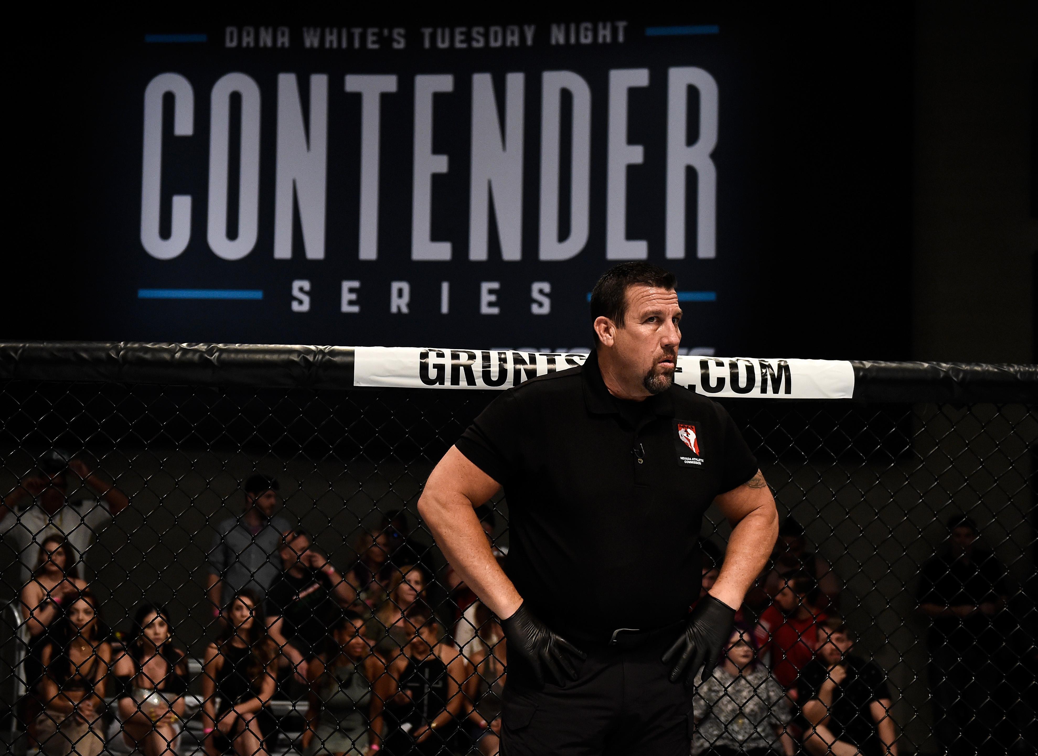 Dana White's Tuesday Night Contender Series: Besstte v Holobaugh