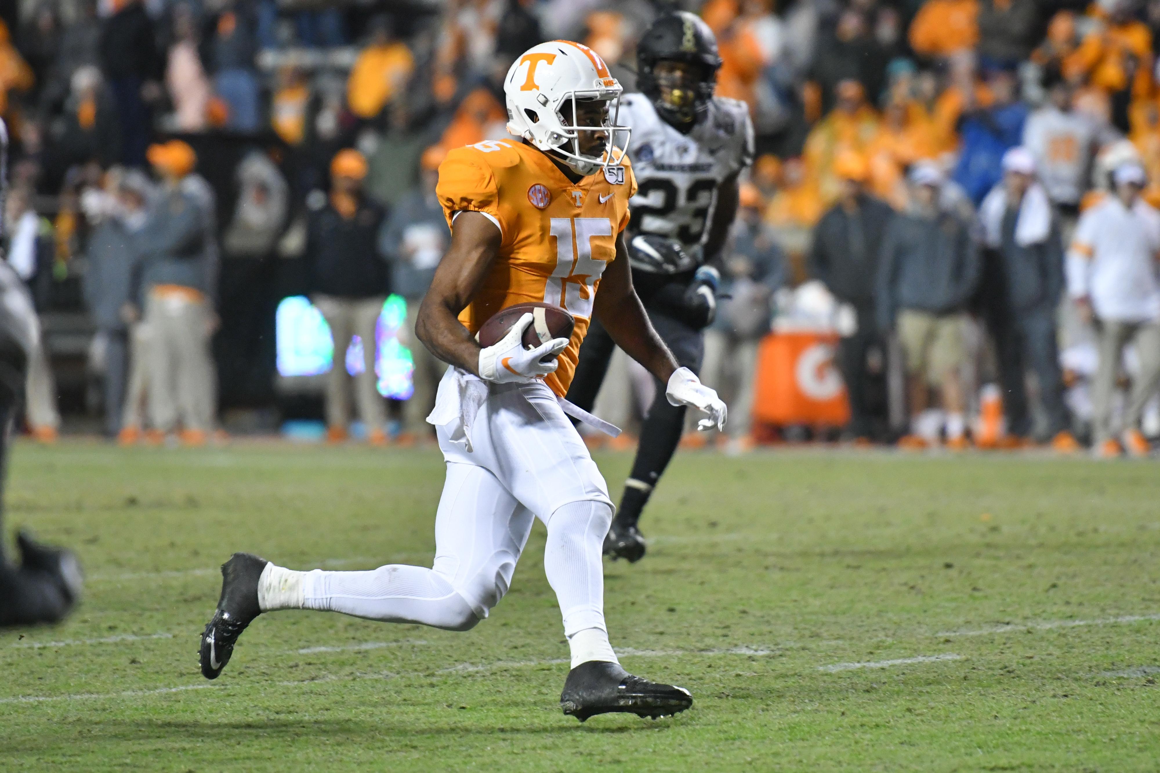 NCAA Football: Vanderbilt at Tennessee