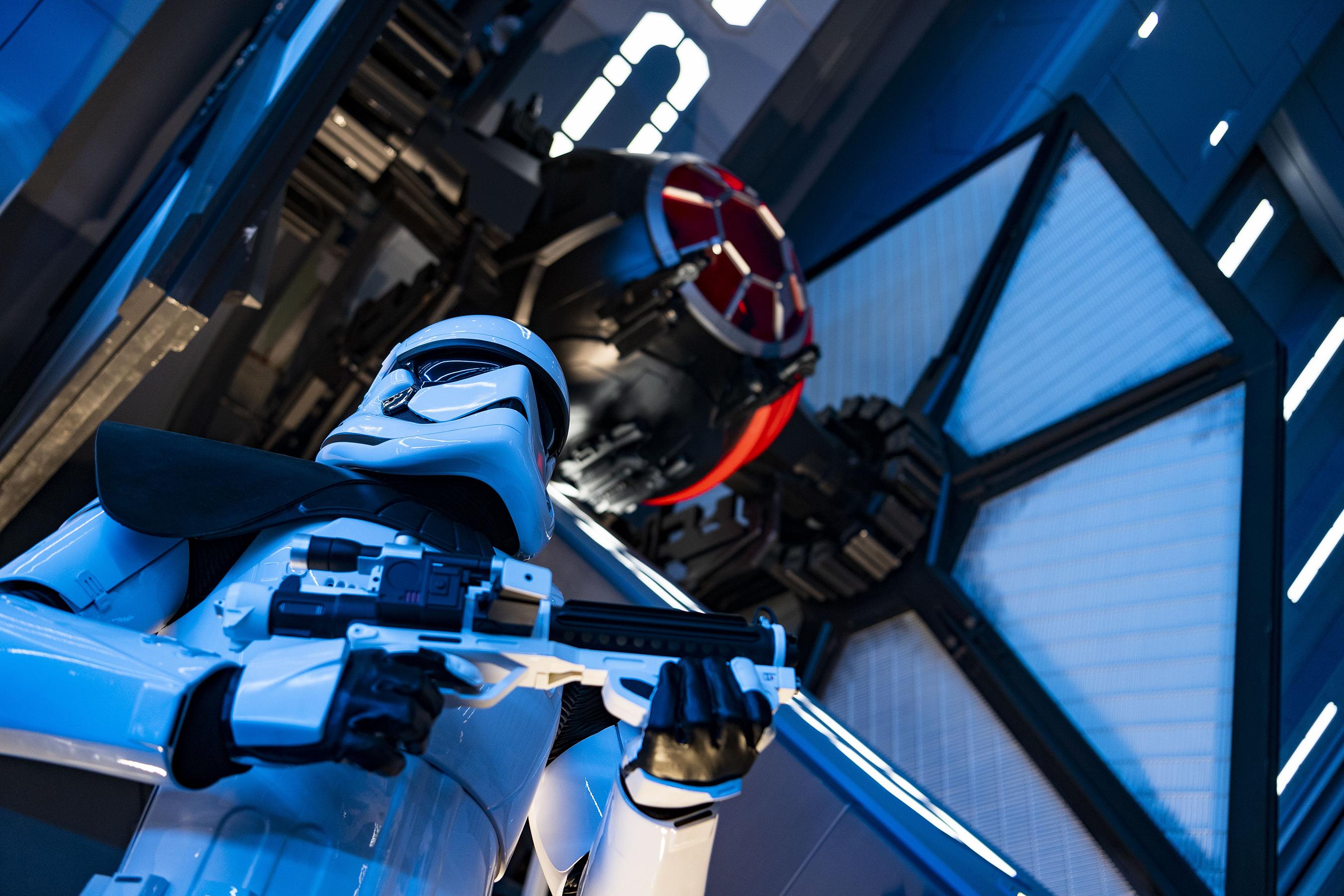 Disney's Star Wars dark ride Rise of the Resistance delivers sensory overload