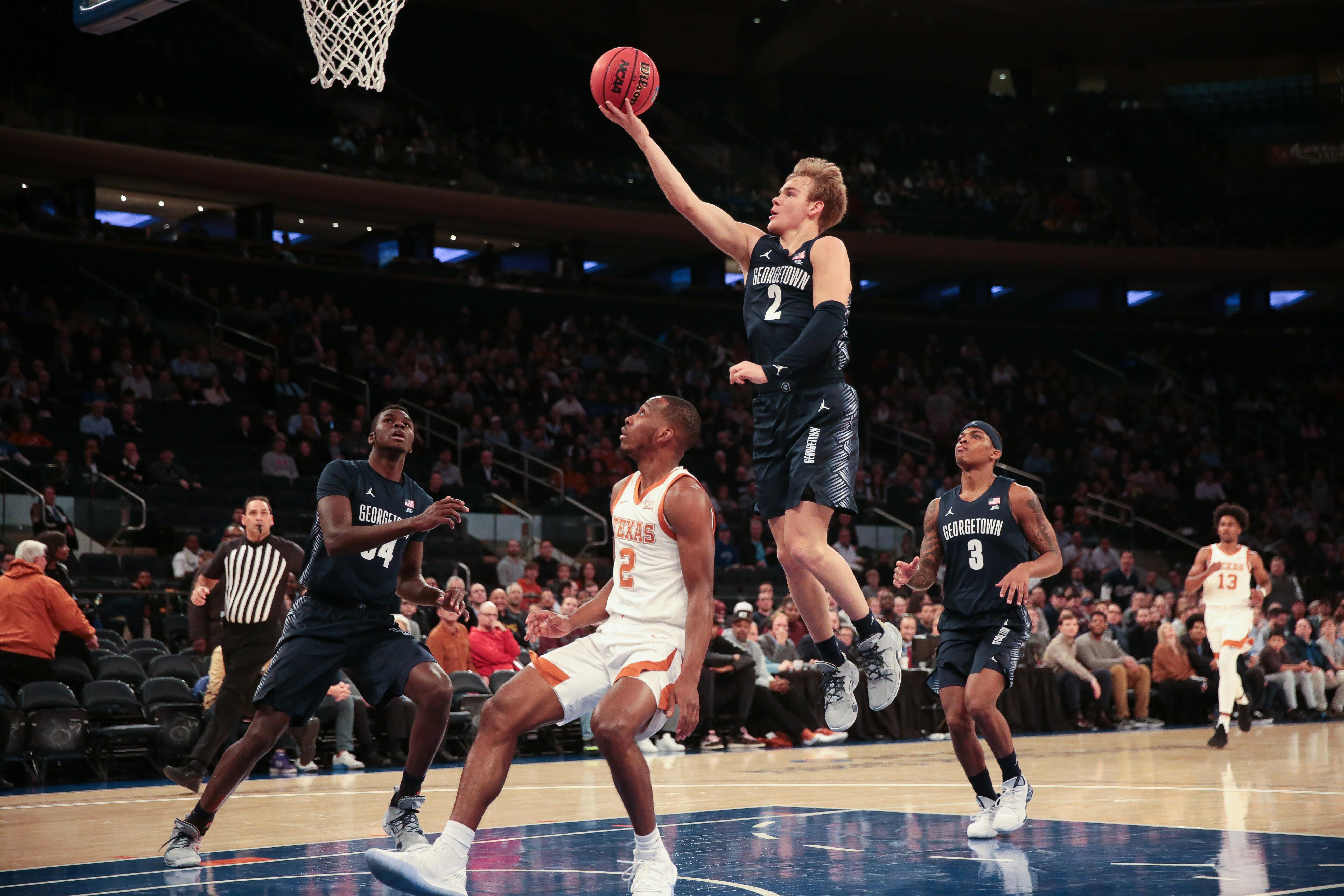 NCAA Basketball: Georgetown at Texas