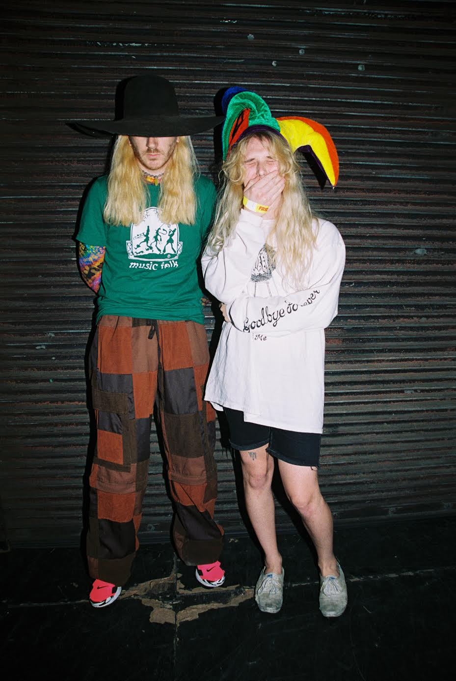 Dylan Brady (left) and Laura Les (right)