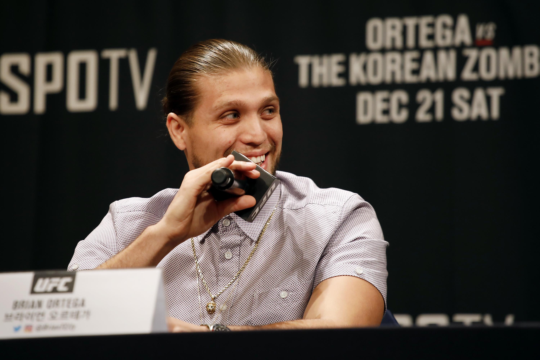 UFC Seoul Press Conference