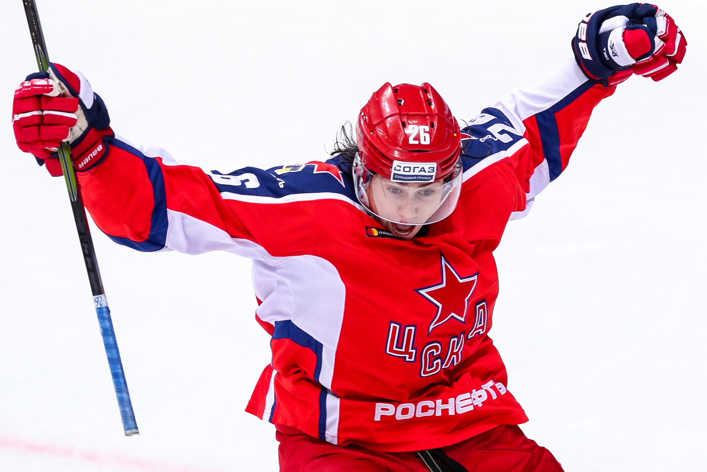 Kontinental Hockey League: CSKA Moscow 5 - 4 Ak Bars Kazan