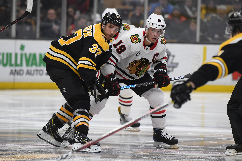Chicago Blackhawks v Boston Bruins