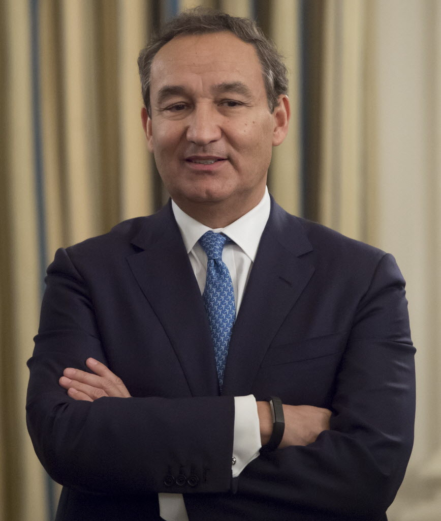 Oscar Munoz, president and CEO of United Continental Holdings, in February. | AFP / Getty Images