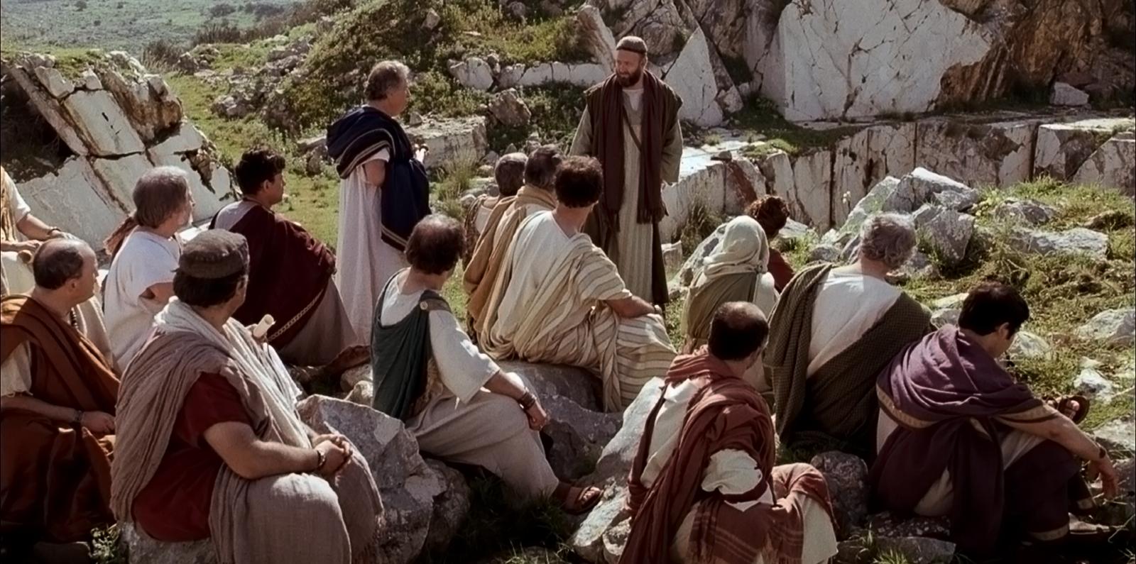 Paul teaches Athenians about Jesus Christ.