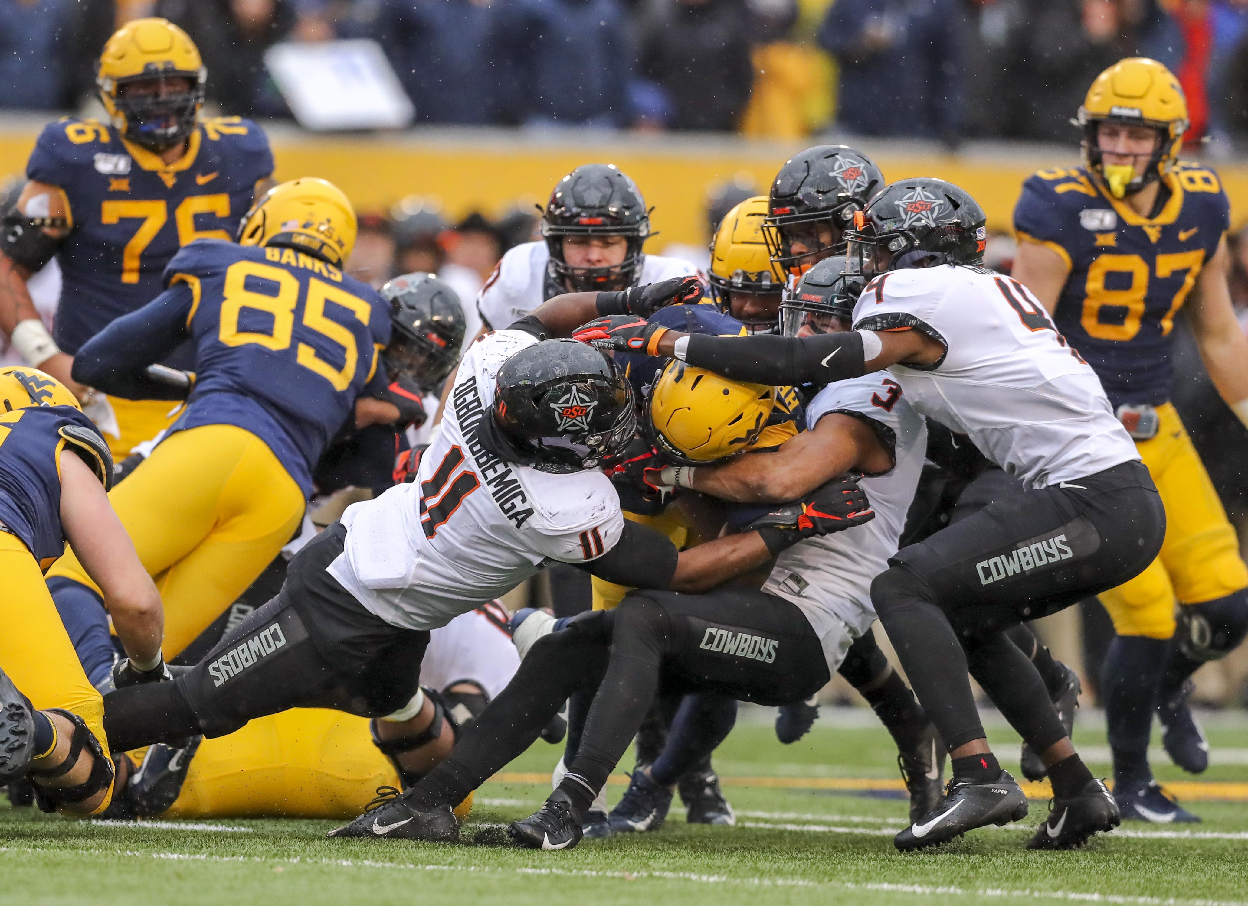 NCAA Football: Oklahoma State at West Virginia