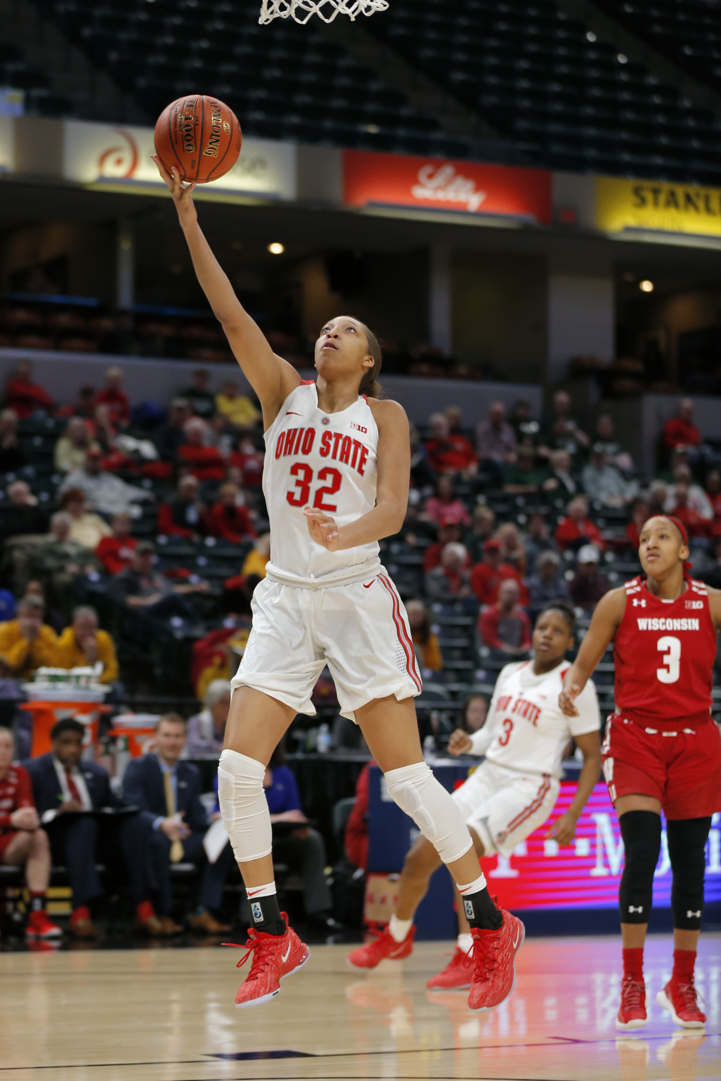 COLLEGE BASKETBALL: MAR 07 Big Ten Conference Women's Tournament - Wisconsin v Ohio State