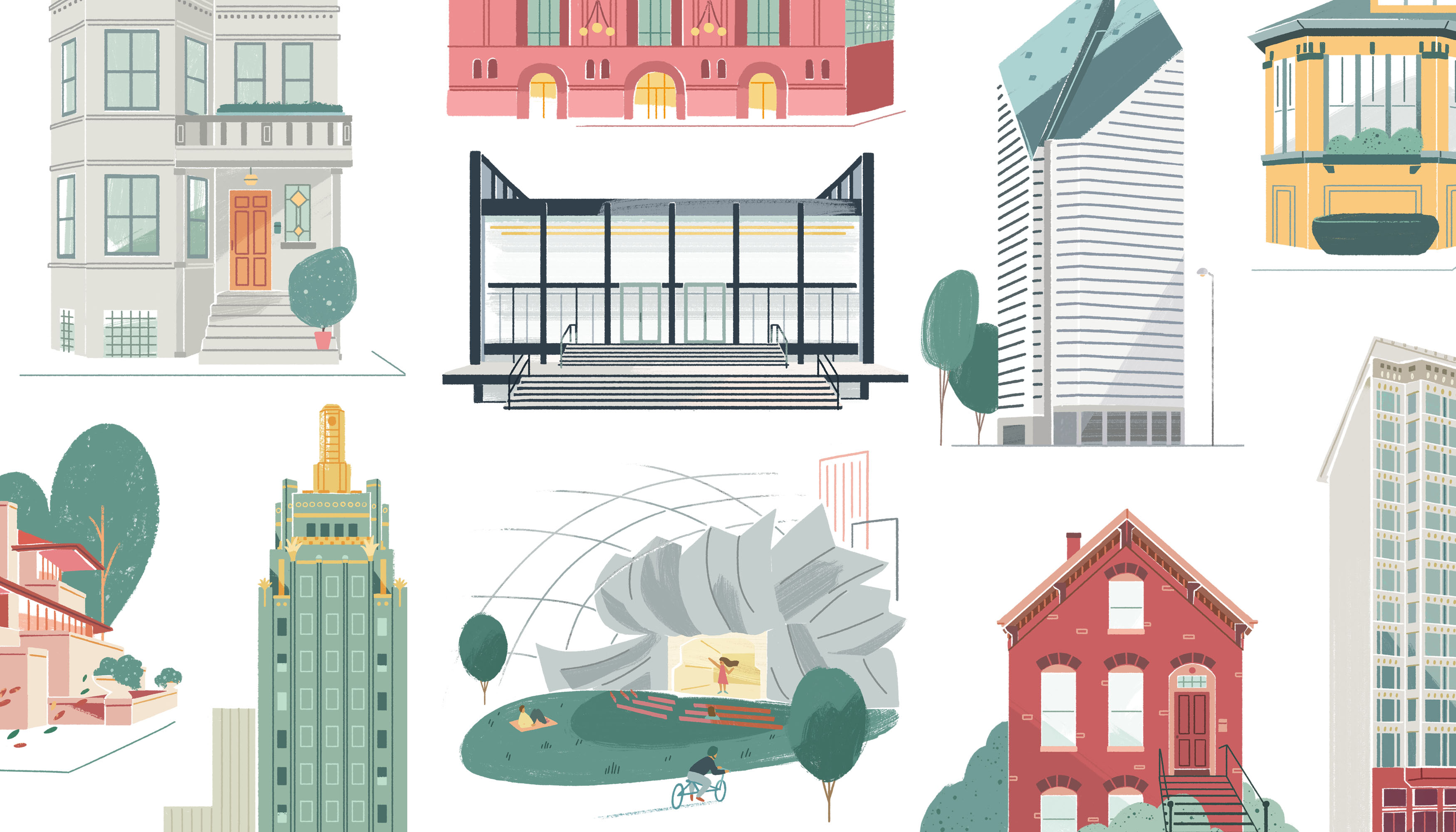 An illustrated guide to Chicago architecture