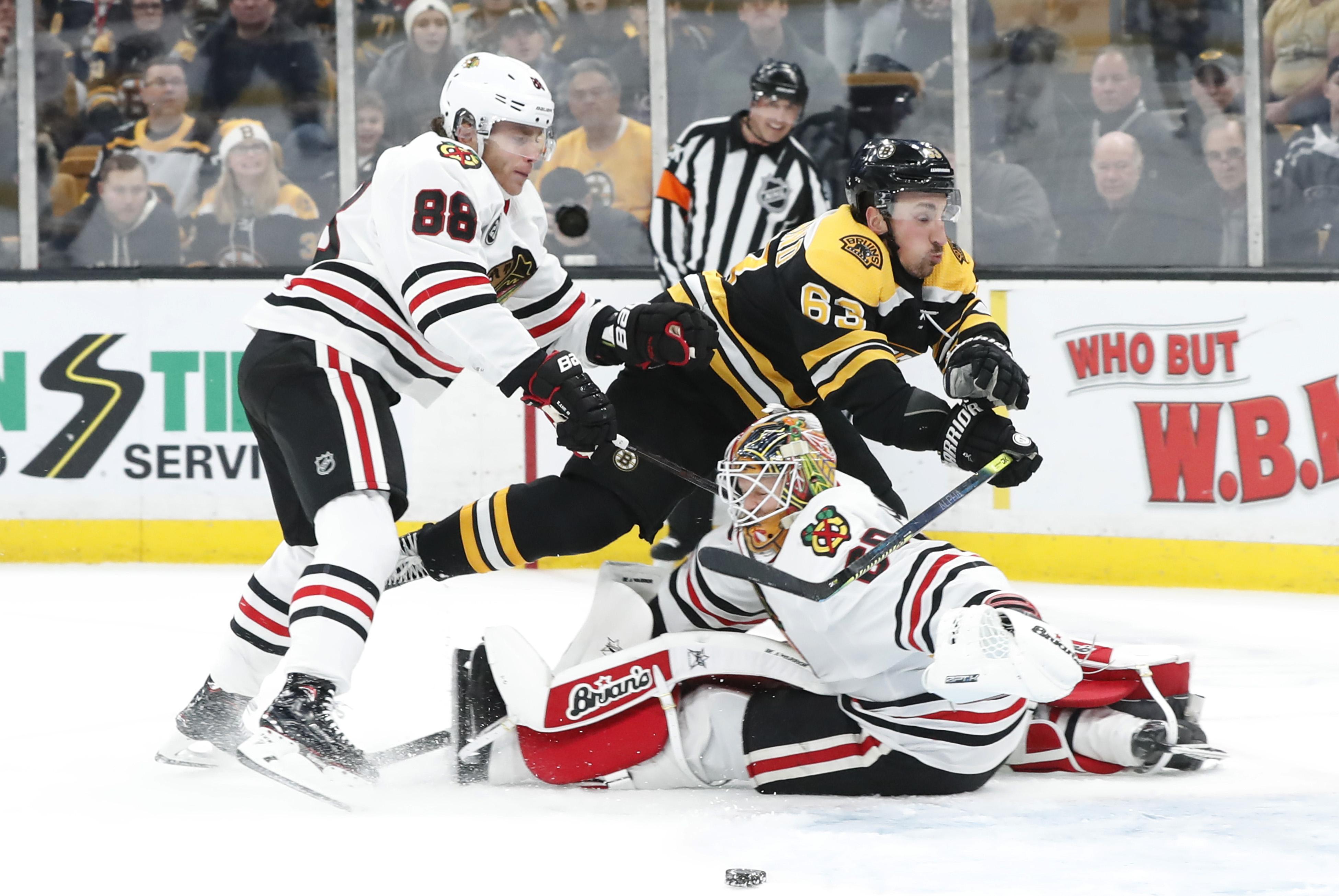 NHL: FEB 12 Blackhawks at Bruins