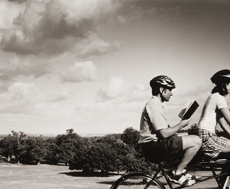 Read, ride. A life complete.