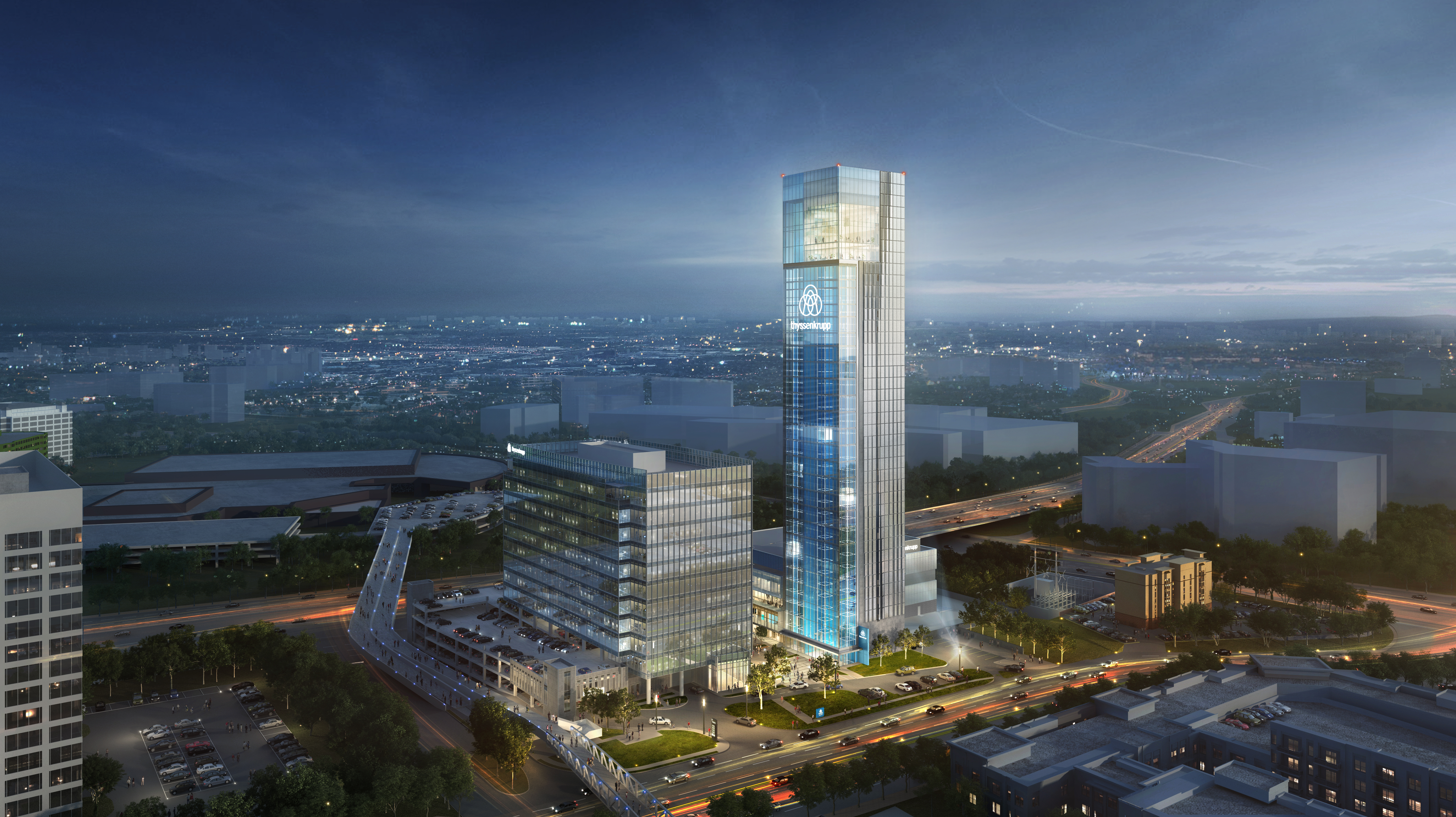 Fresh renderings: Vision for Cobb County's tallest planned tower revised—again